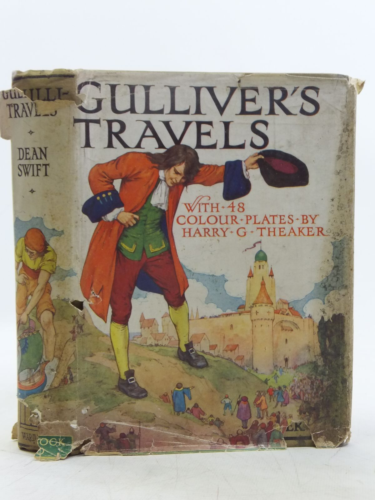 Photo of GULLIVER'S TRAVELS written by Swift, Jonathan illustrated by Theaker, Harry G. published by Ward, Lock & Co. Ltd. (STOCK CODE: 2119078)  for sale by Stella & Rose's Books