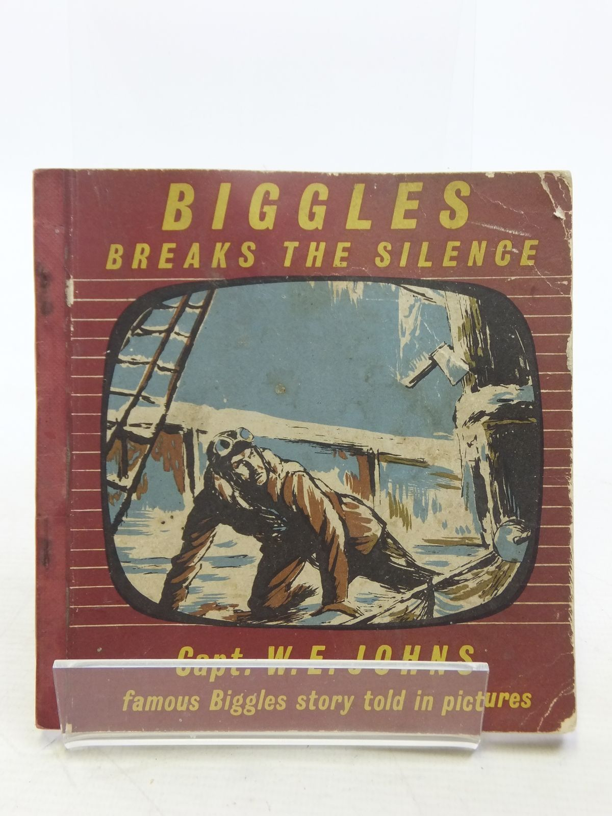 Photo of BIGGLES BREAKS THE SILENCE- Stock Number: 2119099