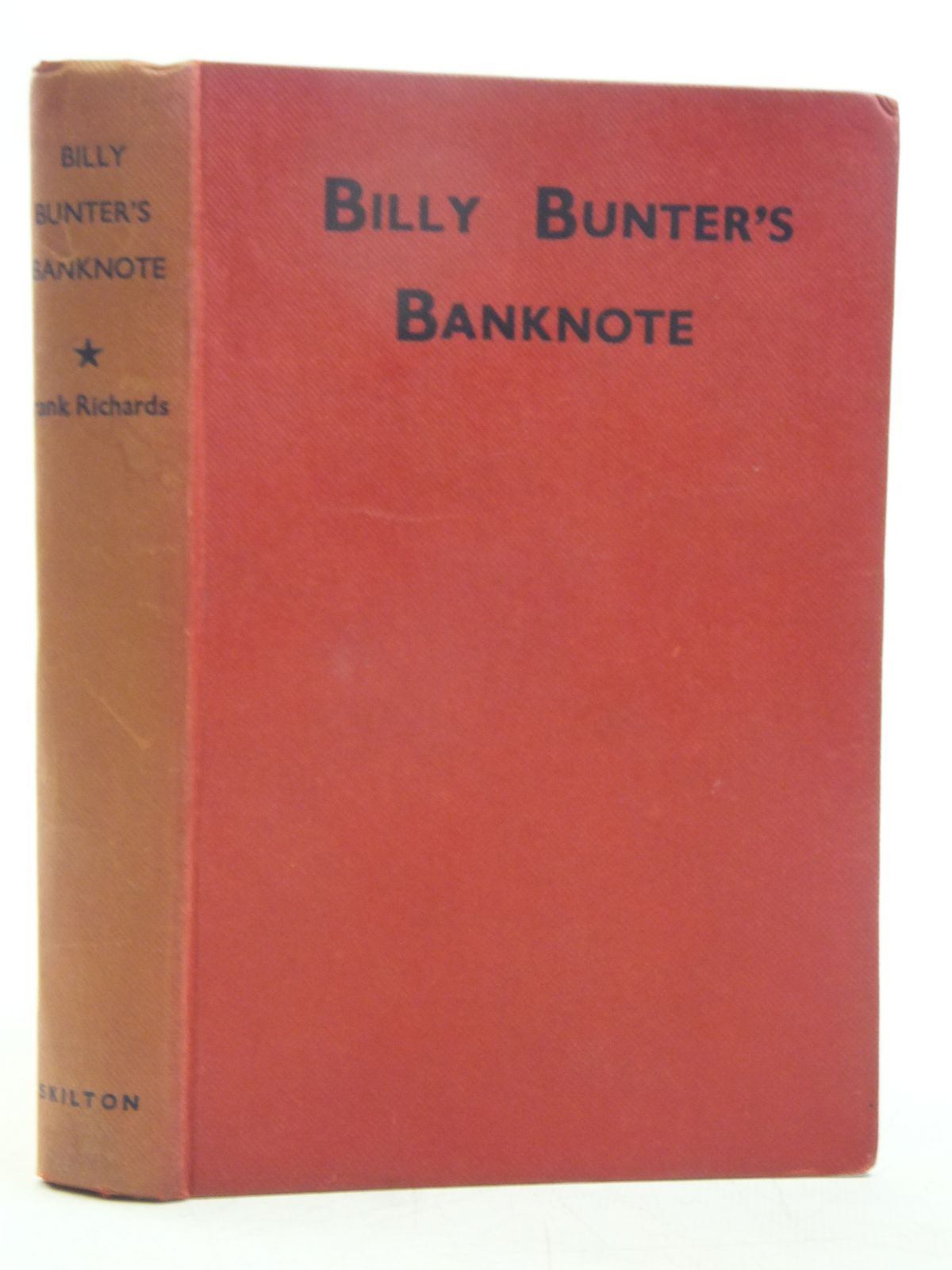 Photo of BILLY BUNTER'S BANKNOTE written by Richards, Frank illustrated by Macdonald, R.J. published by Charles Skilton Ltd. (STOCK CODE: 2119181)  for sale by Stella & Rose's Books