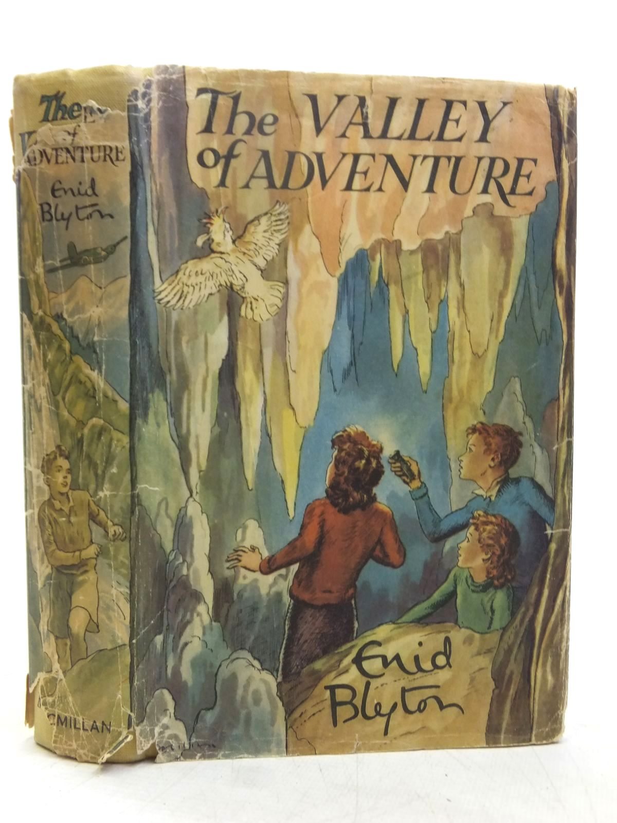 Photo of THE VALLEY OF ADVENTURE written by Blyton, Enid illustrated by Tresilian, Stuart published by Macmillan & Co. Ltd. (STOCK CODE: 2119195)  for sale by Stella & Rose's Books