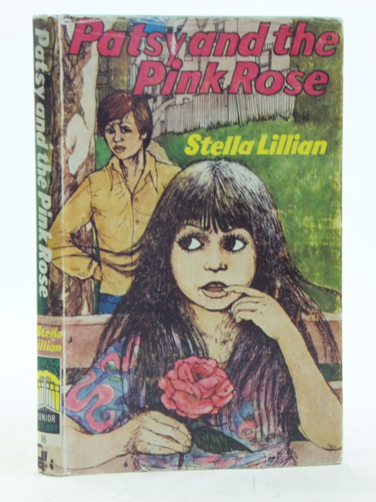 Photo of PATSY AND THE PINK ROSE written by Lillian, Stella illustrated by Isaacs, Rosalyn published by Lutterworth Press (STOCK CODE: 2119234)  for sale by Stella & Rose's Books