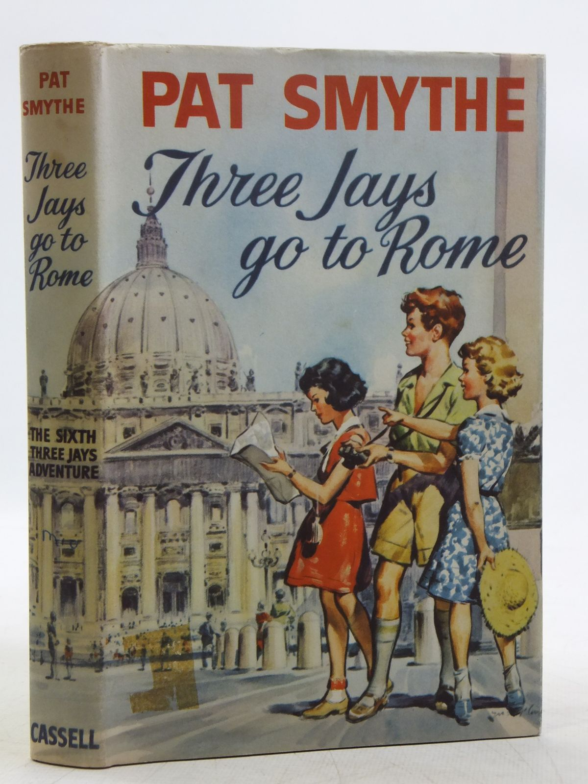 Photo of THREE JAYS GO TO ROME written by Smythe, Pat illustrated by Money, Keith published by Cassell (STOCK CODE: 2119242)  for sale by Stella & Rose's Books