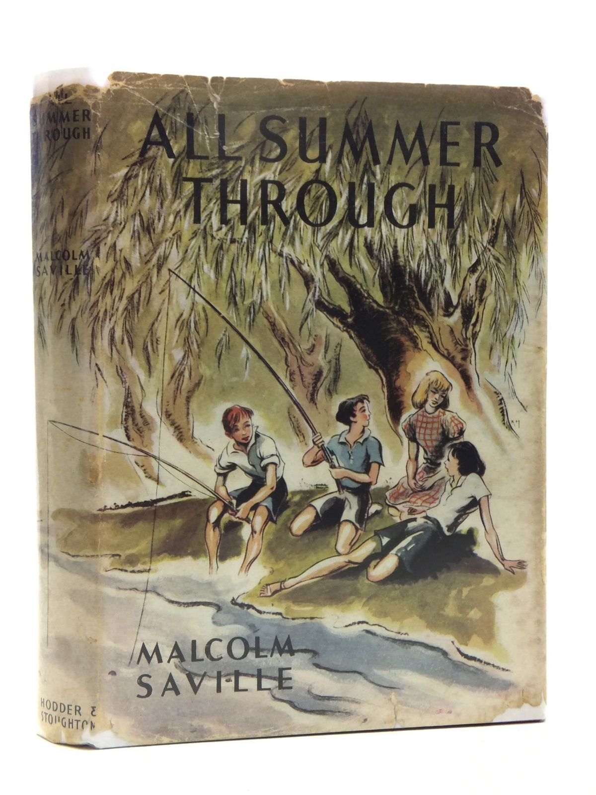 Photo of ALL SUMMER THROUGH written by Saville, Malcolm illustrated by Kiddell-Monroe, Joan published by Hodder & Stoughton (STOCK CODE: 2119245)  for sale by Stella & Rose's Books