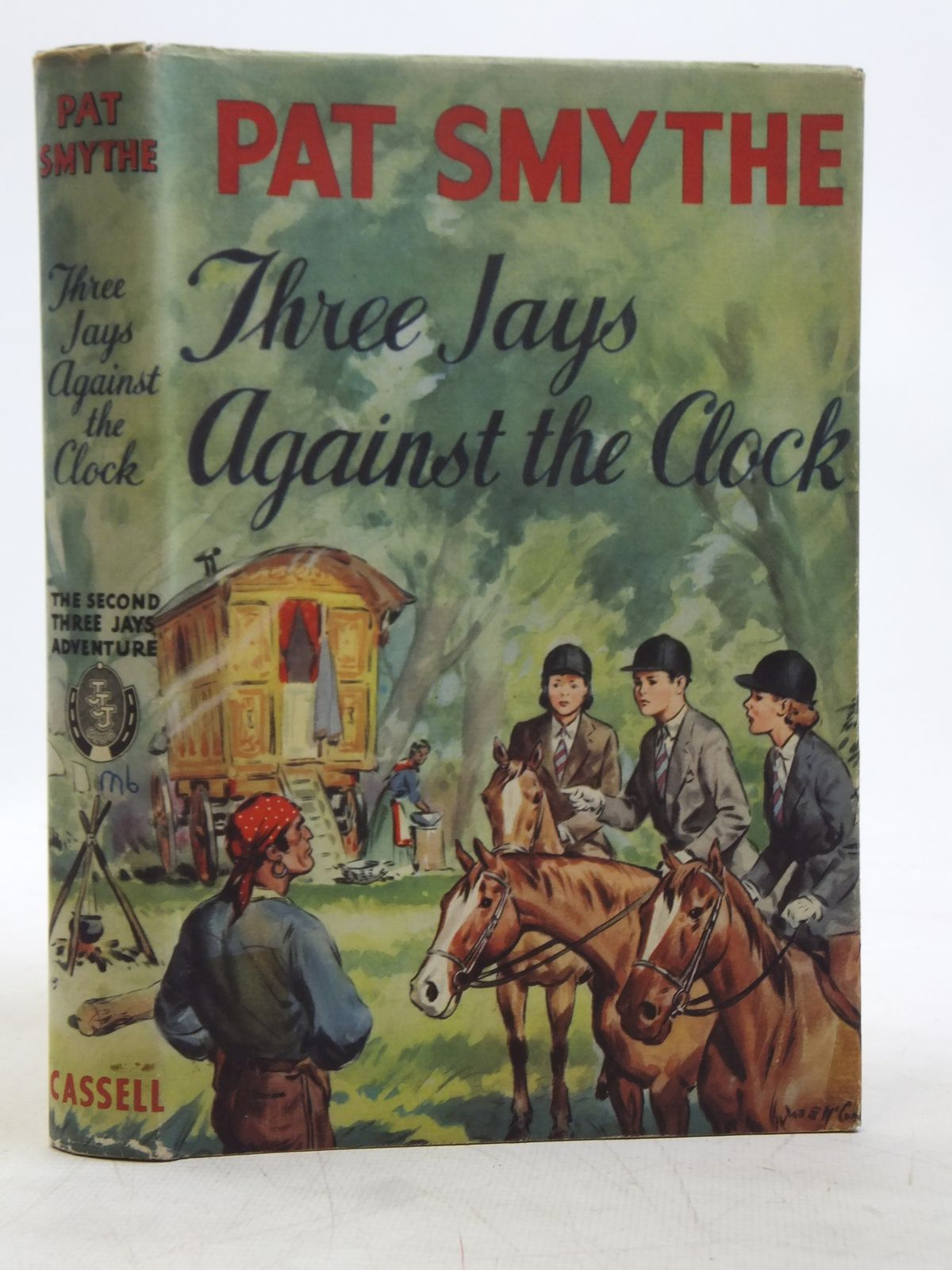 Photo of THREE JAYS AGAINST THE CLOCK written by Smythe, Pat illustrated by McConnell, J.E. published by Cassell & Co. Ltd. (STOCK CODE: 2119276)  for sale by Stella & Rose's Books
