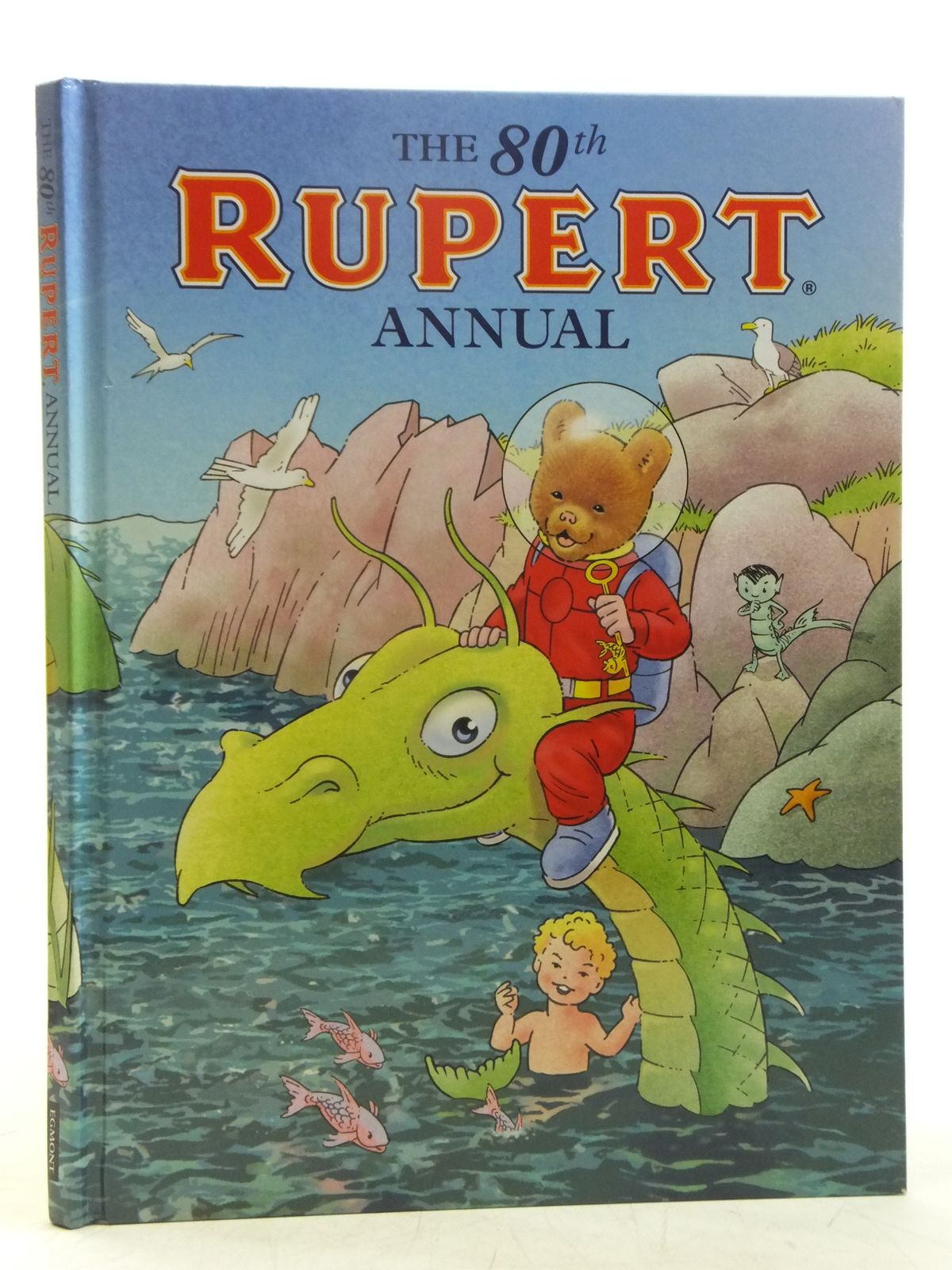 Photo of RUPERT ANNUAL 2015 written by Milton, Stephanie illustrated by Trotter, Stuart Harrold, John Bestall, Alfred published by Egmont Uk Limited (STOCK CODE: 2119409)  for sale by Stella & Rose's Books