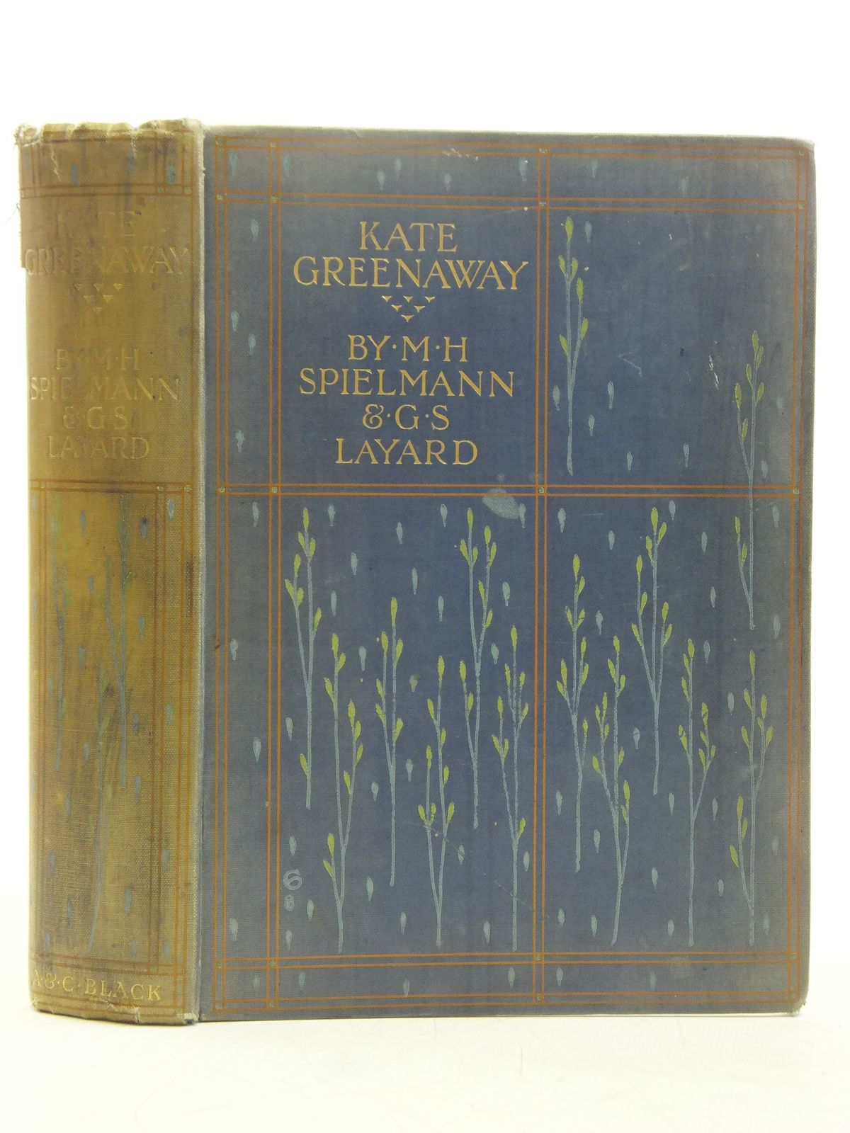 Photo of KATE GREENAWAY written by Spielmann, M.H.<br />Layard, G.S. illustrated by Greenaway, Kate published by Adam &amp; Charles Black (STOCK CODE: 2119424)  for sale by Stella & Rose's Books