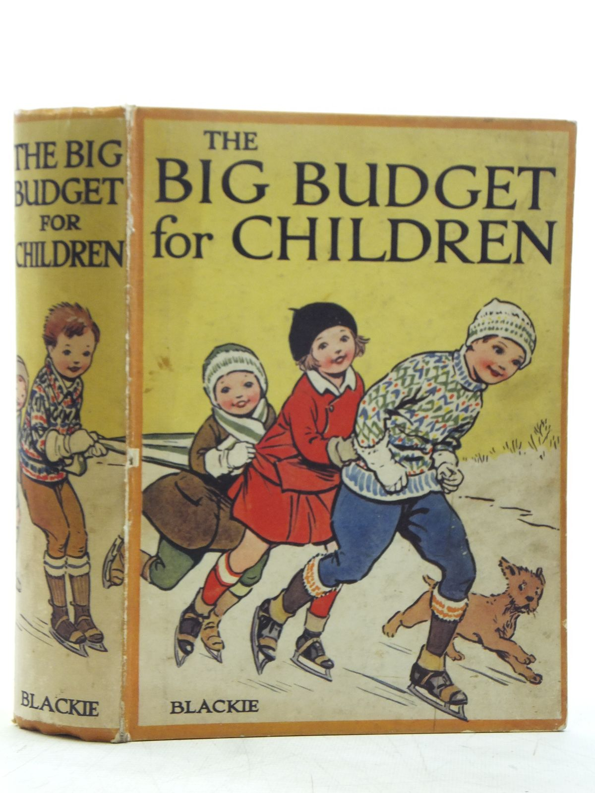 Photo of THE BIG BUDGET FOR CHILDREN written by Joan, Natalie<br />Holmes, W. Kersley<br />Talbot, Ethel<br />Herbertson, Agnes Grozier<br />et al, illustrated by Brock, R.H.<br />et al., published by Blackie &amp; Son Ltd. (STOCK CODE: 2119425)  for sale by Stella & Rose's Books