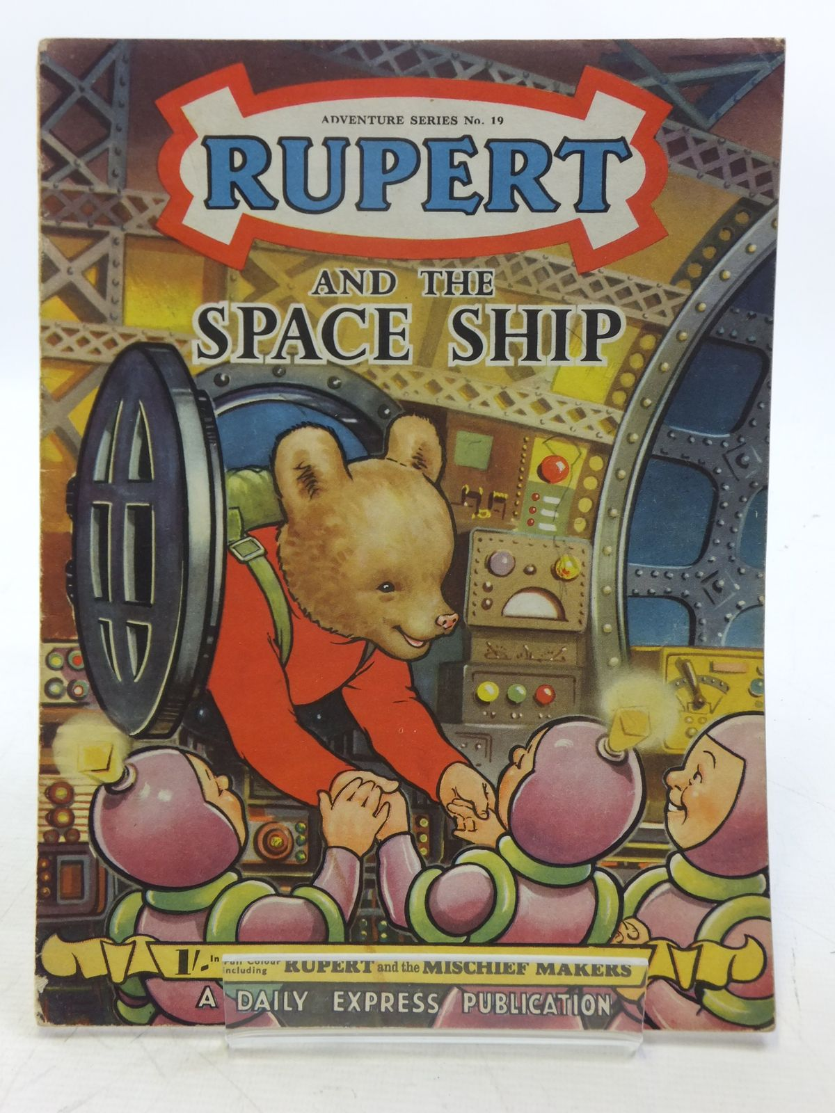 Photo of RUPERT ADVENTURE SERIES No. 19 - RUPERT AND THE SPACE SHIP- Stock Number: 2119449