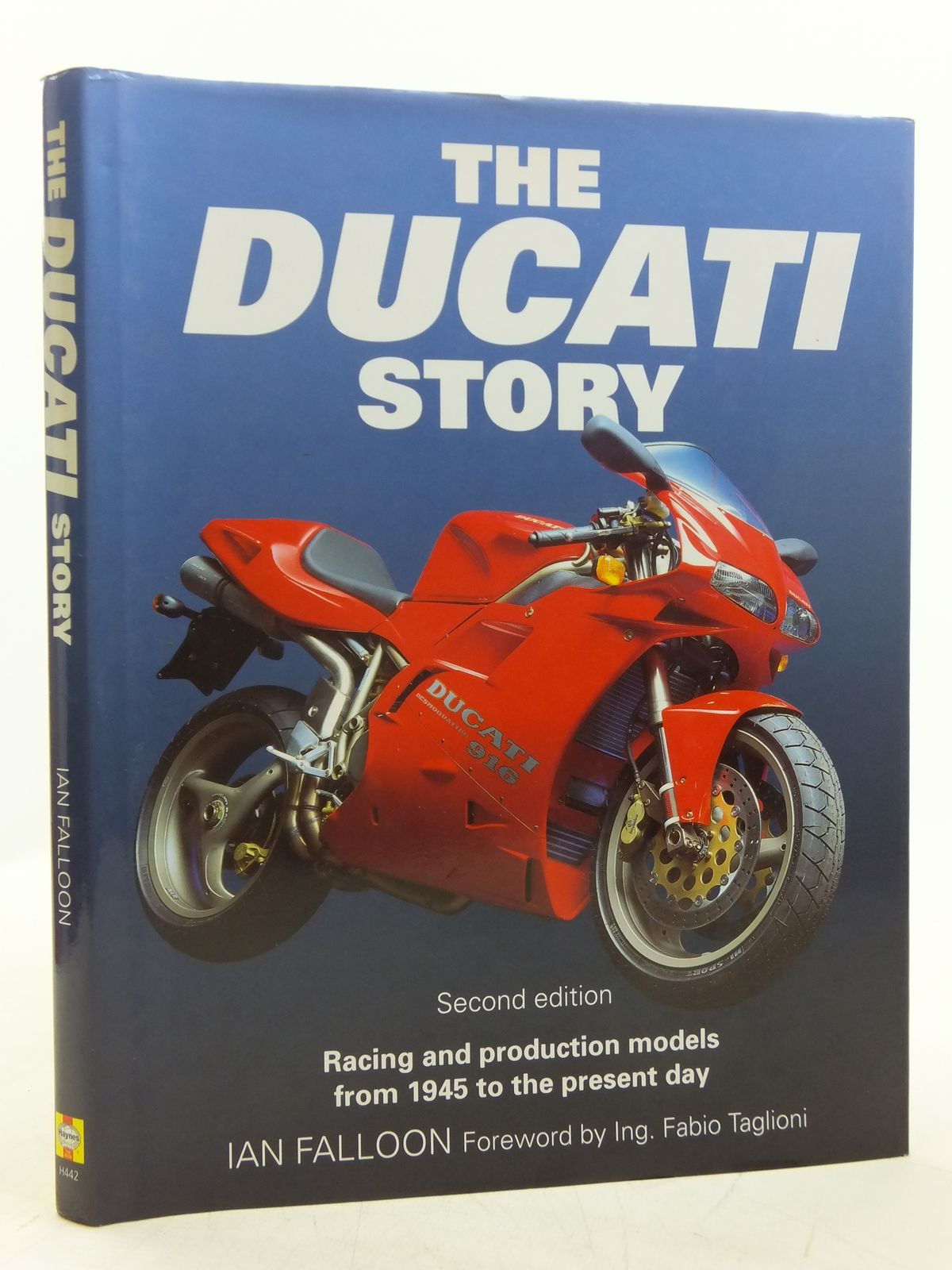Photo of THE DUCATI STORY written by Falloon, Ian published by Haynes Publishing Group (STOCK CODE: 2119681)  for sale by Stella & Rose's Books