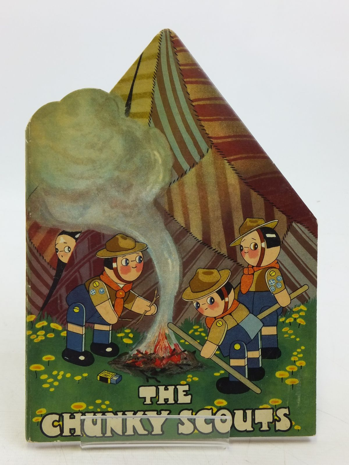 Photo of THE CHUNKY SCOUTS written by Preston, Chloe illustrated by Preston, Chloe published by Humphrey Milford (STOCK CODE: 2119801)  for sale by Stella & Rose's Books