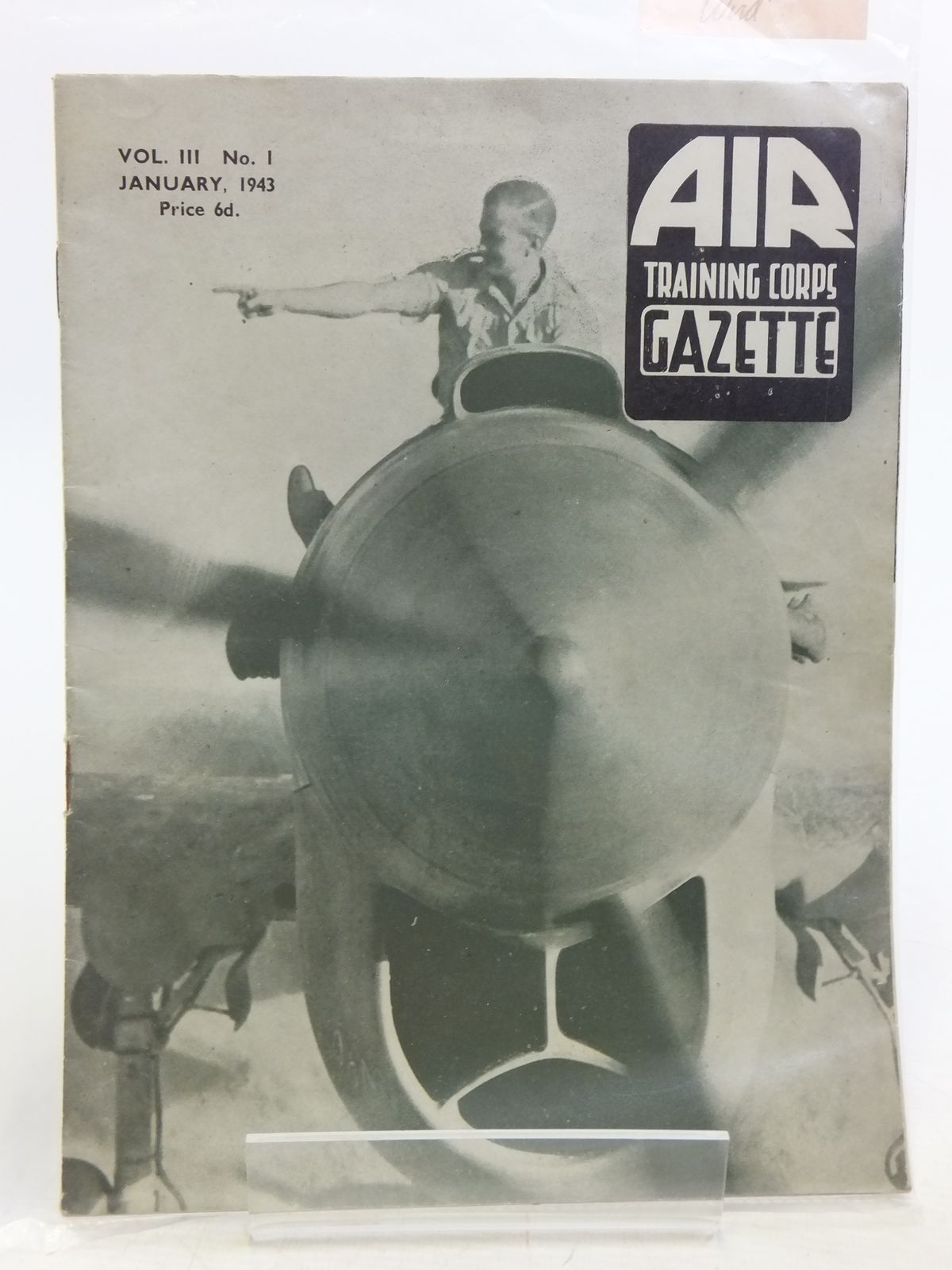 Photo of AIR TRAINING CORPS GAZETTE VOL. III No. 1 JANUARY 1943- Stock Number: 2119949