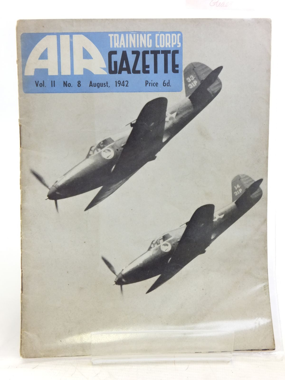 Photo of AIR TRAINING CORPS GAZETTE VOL. II No. 8 AUGUST 1942- Stock Number: 2119952