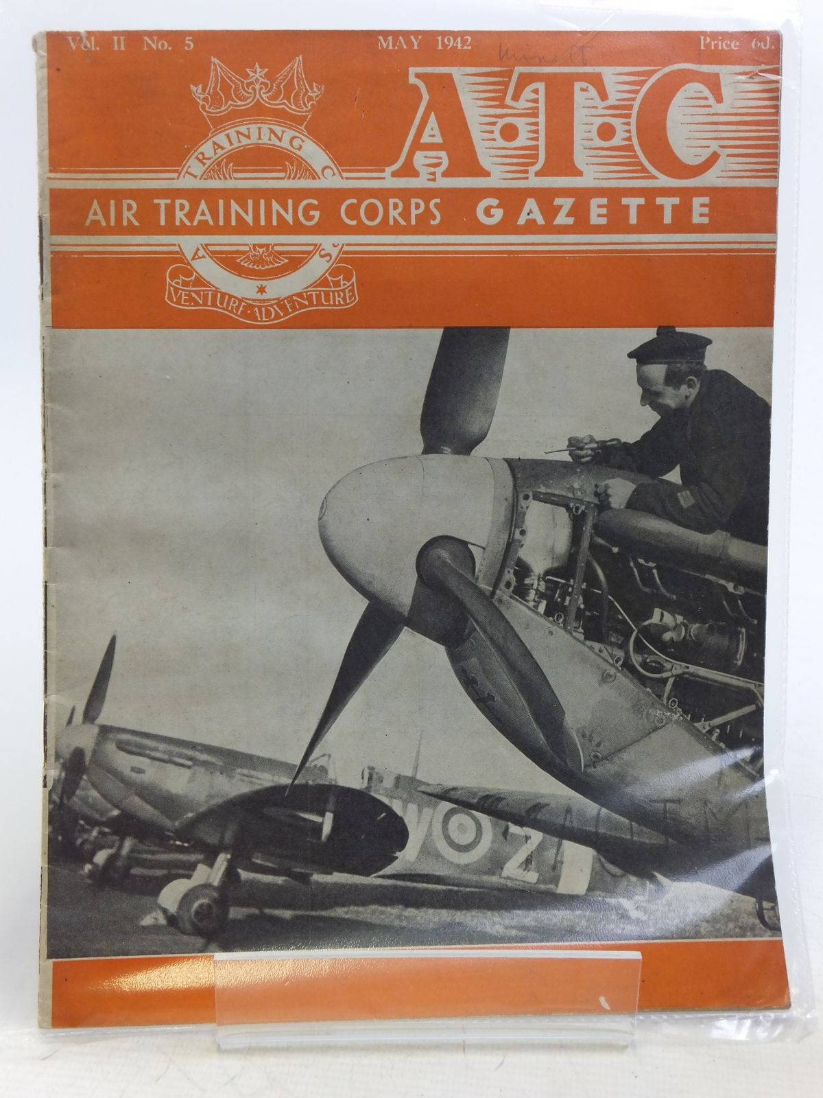 Photo of AIR TRAINING CORPS GAZETTE VOL. II No. 5 MAY 1942- Stock Number: 2119956