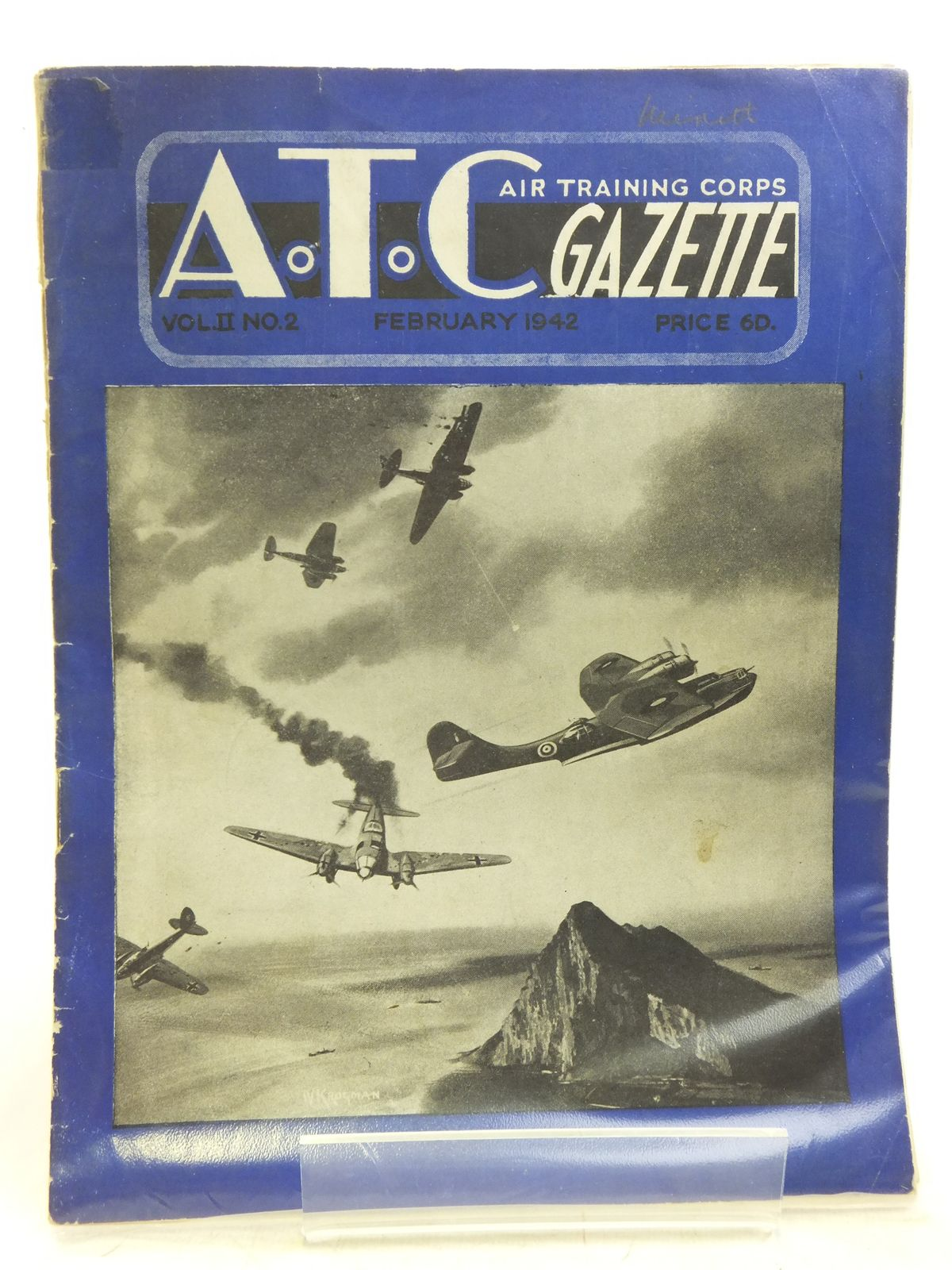 Photo of AIR TRAINING CORPS GAZETTE VOL. II No. 2 FEBRUARY 1942- Stock Number: 2119957