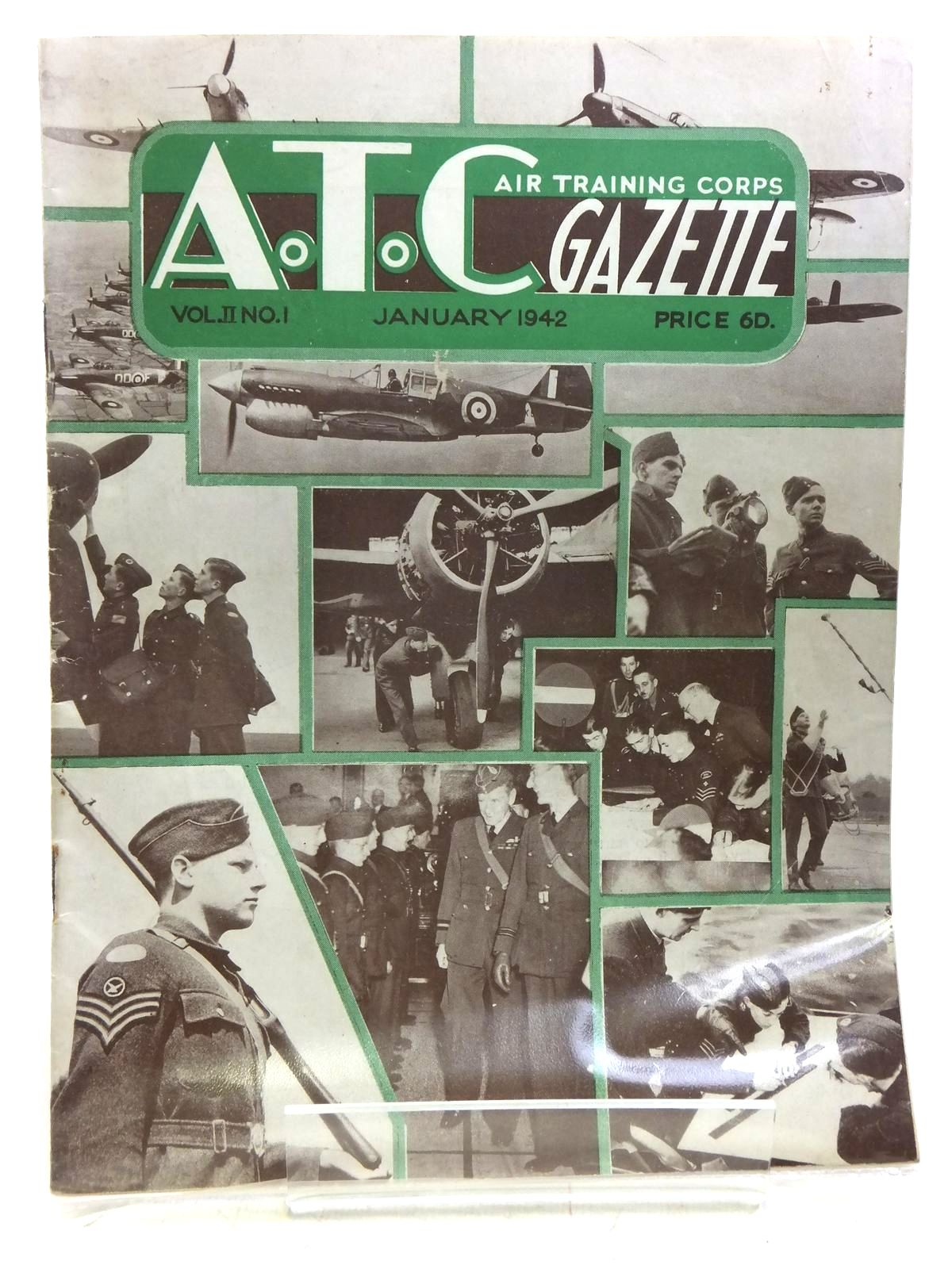 Photo of AIR TRAINING CORPS GAZETTE VOL. II No. 1 JANUARY 1942- Stock Number: 2119958