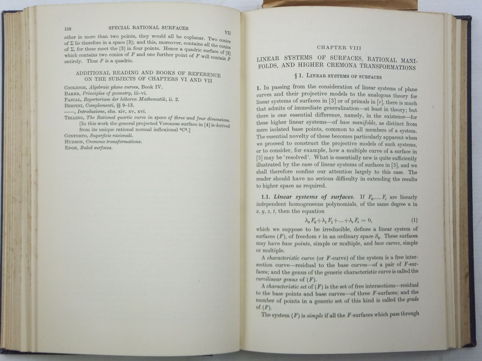 Photo of INTRODUCTION TO ALGEBRAIC GEOMETRY written by Semple, J.G. Roth, L. published by Oxford at the Clarendon Press (STOCK CODE: 2120097)  for sale by Stella & Rose's Books
