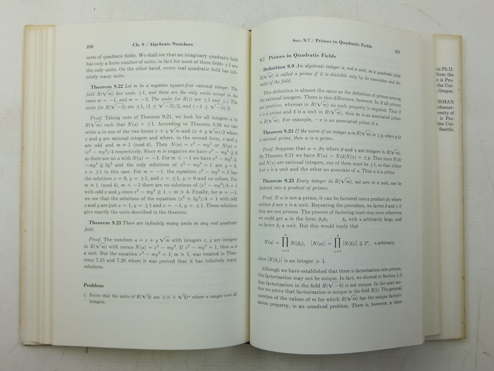 Photo of AN INTRODUCTION TO THE THEORY OF NUMBERS written by Niven, Ivan Zuckerman, Herbert S. published by John Wiley & Sons (STOCK CODE: 2120098)  for sale by Stella & Rose's Books