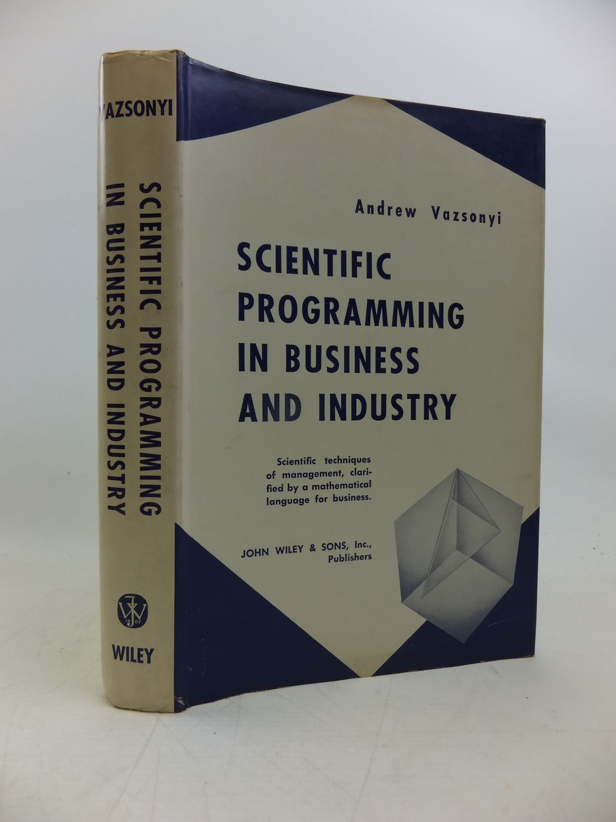 Photo of SCIENTIFIC PROGRAMMING IN BUSINESS AND INDUSTRY- Stock Number: 2120314