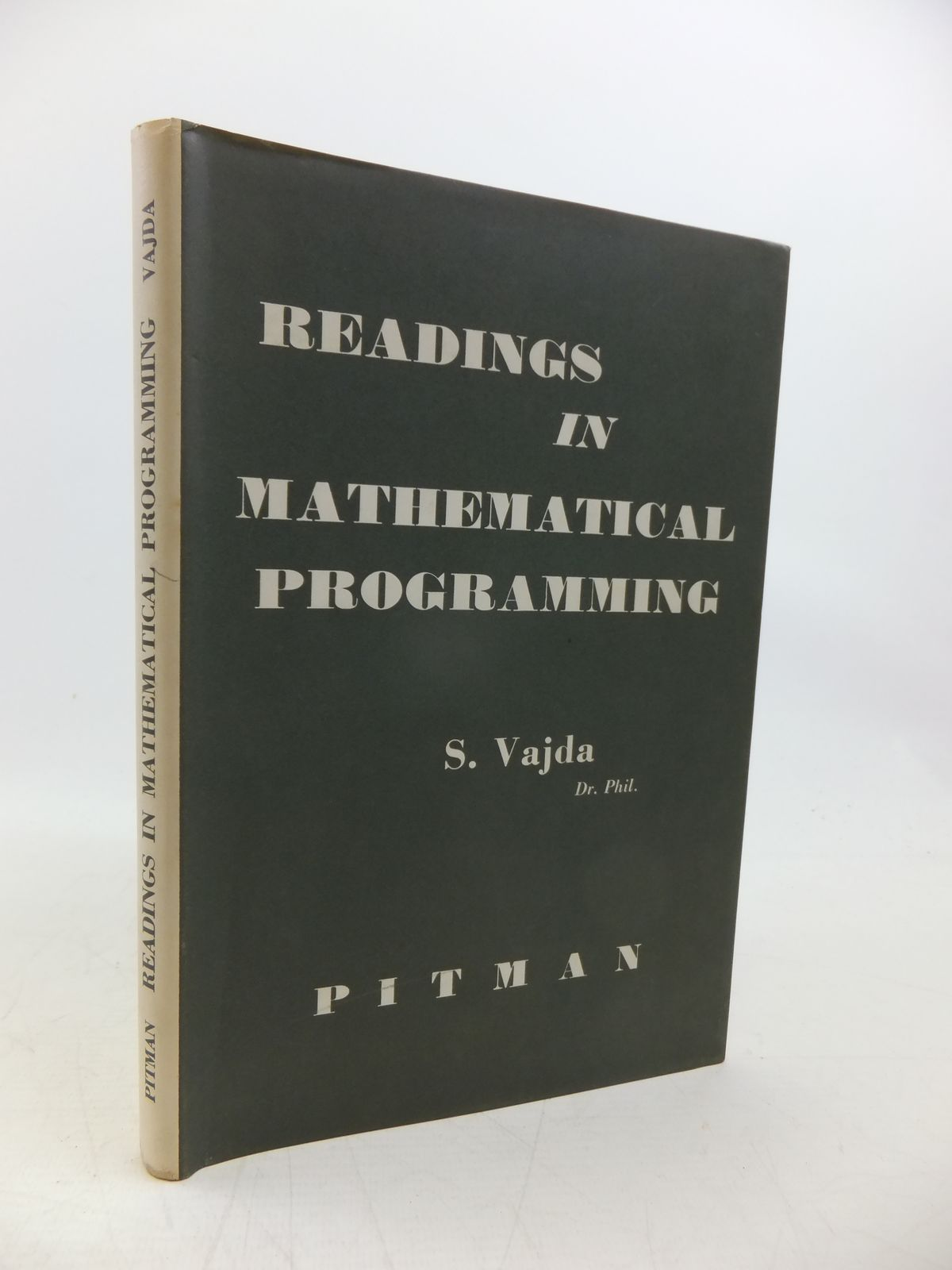 Photo of READINGS IN MATHEMATICAL PROGRAMMING- Stock Number: 2120317