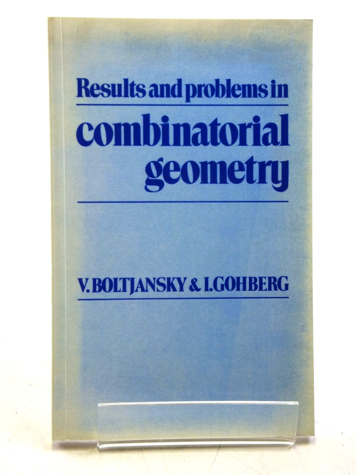 Photo of RESULTS AND PROBLEMS IN COMBINATORIAL GEOMETRY- Stock Number: 2120477