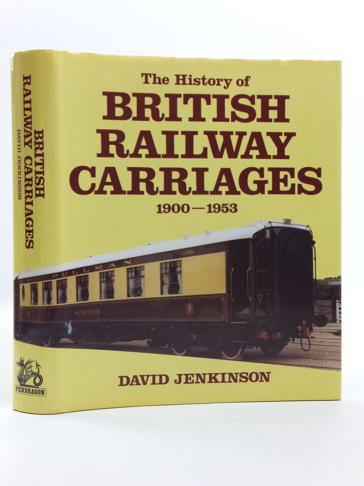 Photo of THE HISTORY OF BRITISH RAILWAY CARRIAGES 1900-1953- Stock Number: 2120585