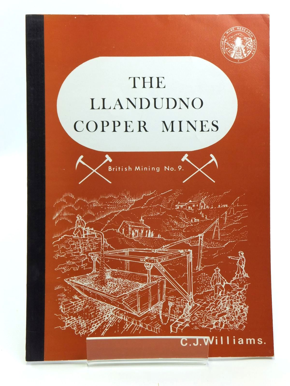 Photo of THE LLANDUDNO COPPER MINES written by Williams, C.J. published by Northern Mine Research Society (STOCK CODE: 2120650)  for sale by Stella & Rose's Books