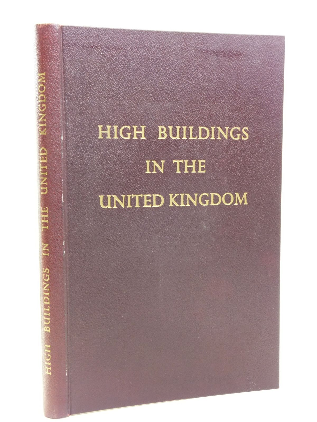 Photo of HIGH BUILDINGS IN THE UNITED KINGDOM published by Sanders, Phillips & Co. Ltd. (STOCK CODE: 2120676)  for sale by Stella & Rose's Books