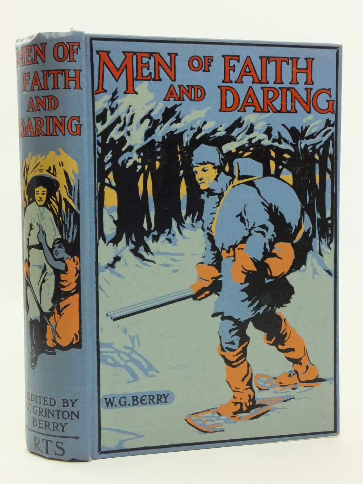 Photo of MEN OF FAITH AND DARING written by Berry, W. Grinton illustrated by Wood, Stanley L. published by The Boy's Own Paper (STOCK CODE: 2120755)  for sale by Stella & Rose's Books
