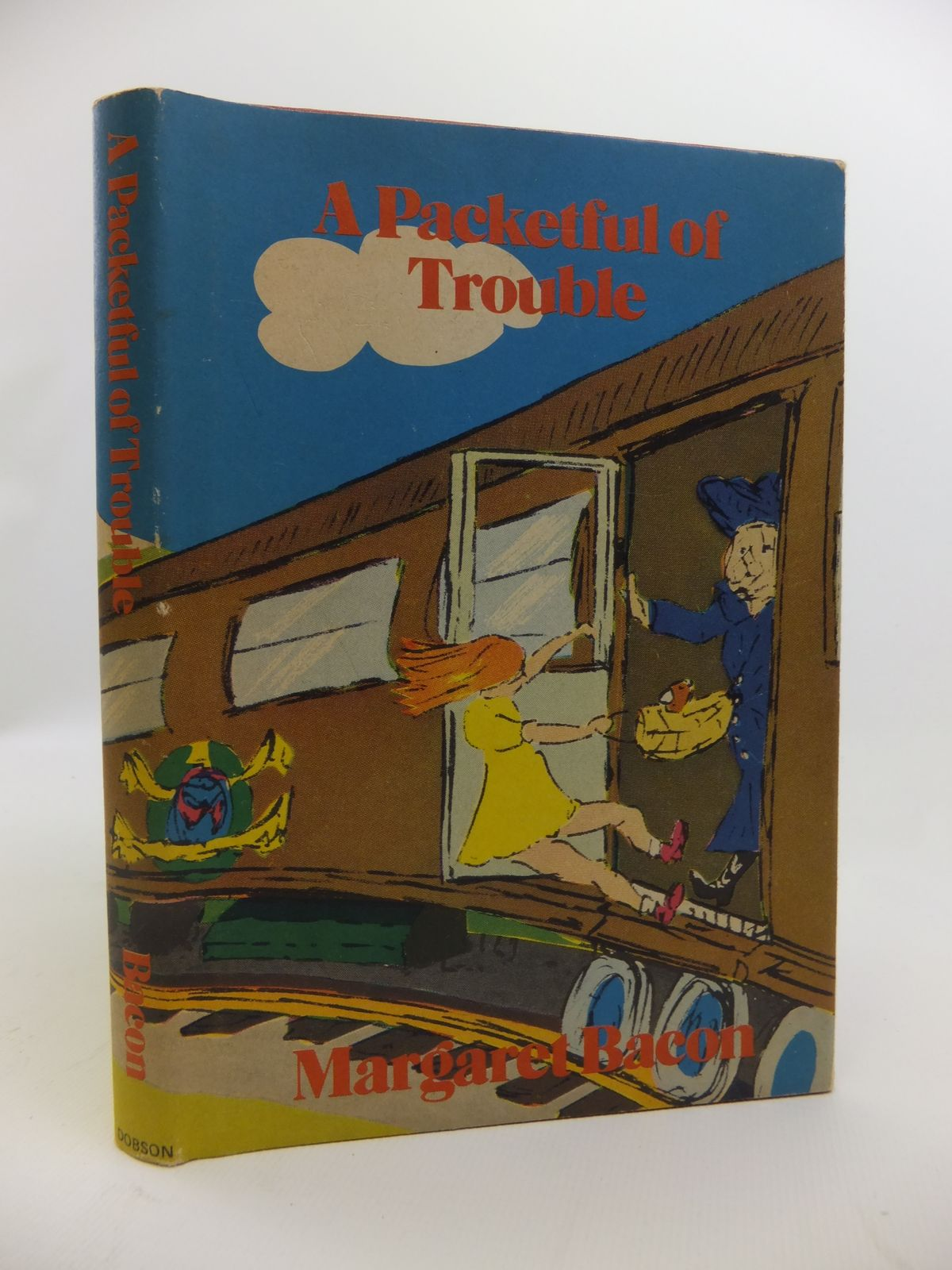 Photo of A PACKETFUL OF TROUBLE written by Bacon, Margaret illustrated by Tuckwell, Richard published by Dennis Dobson (STOCK CODE: 2120780)  for sale by Stella & Rose's Books