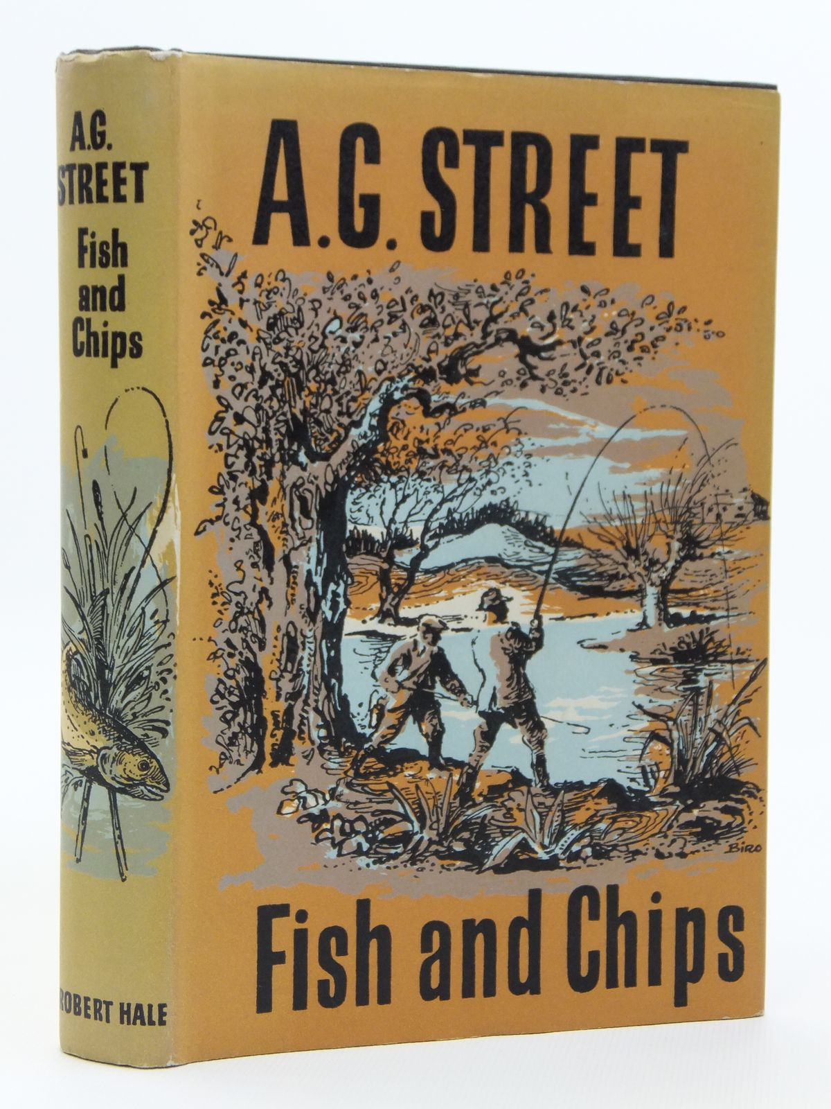 Photo of FISH AND CHIPS written by Street, A.G. published by Robert Hale (STOCK CODE: 2120916)  for sale by Stella & Rose's Books