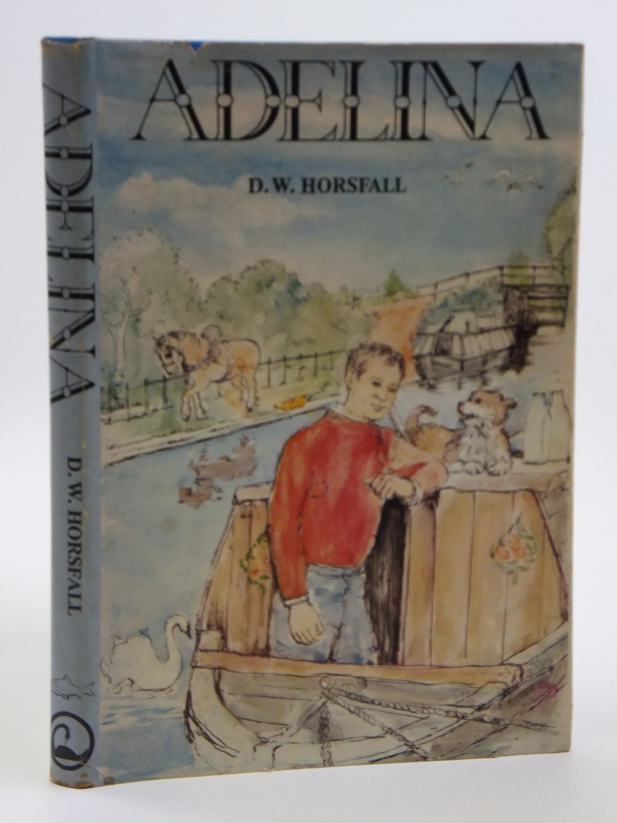 Photo of ADELINA OR THE CANAL MEMOIRS OF A COAL WASHING MAN written by Horsfall, D.W. published by The Canal Press And Shepperton Swan (STOCK CODE: 2121109)  for sale by Stella & Rose's Books