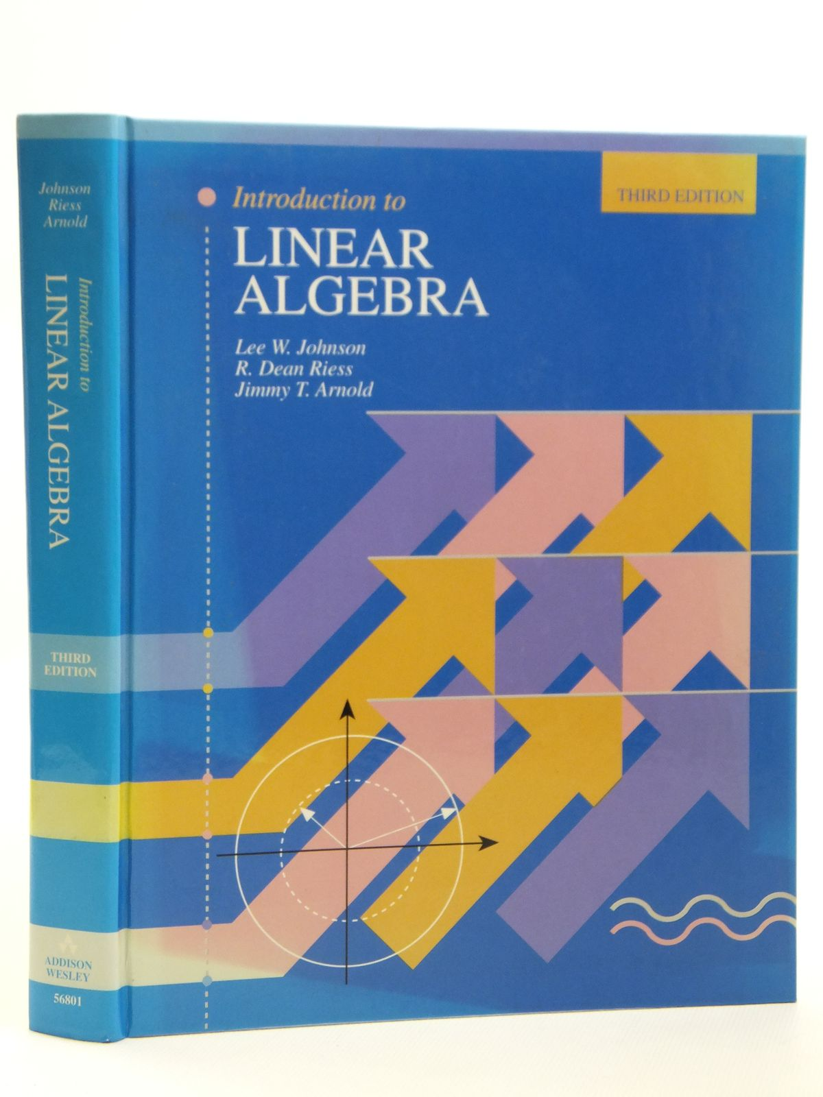 Photo of INTRODUCTION TO LINEAR ALGEBRA written by Johnson, Lee W. Riess, R. Dean Arnold, Jimmy T. published by Addison-Wesley (STOCK CODE: 2121150)  for sale by Stella & Rose's Books