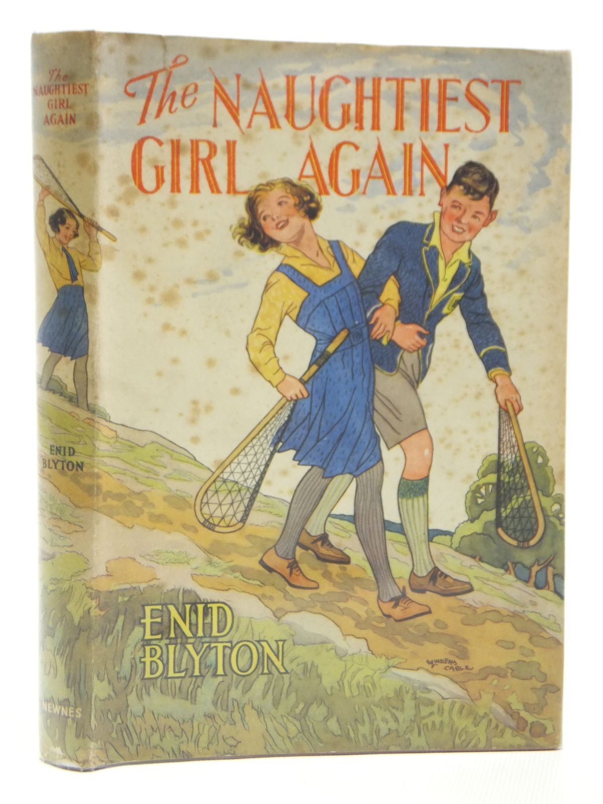 Photo of THE NAUGHTIEST GIRL AGAIN written by Blyton, Enid illustrated by Cable, W. Lindsay published by George Newnes Ltd. (STOCK CODE: 2121208)  for sale by Stella & Rose's Books