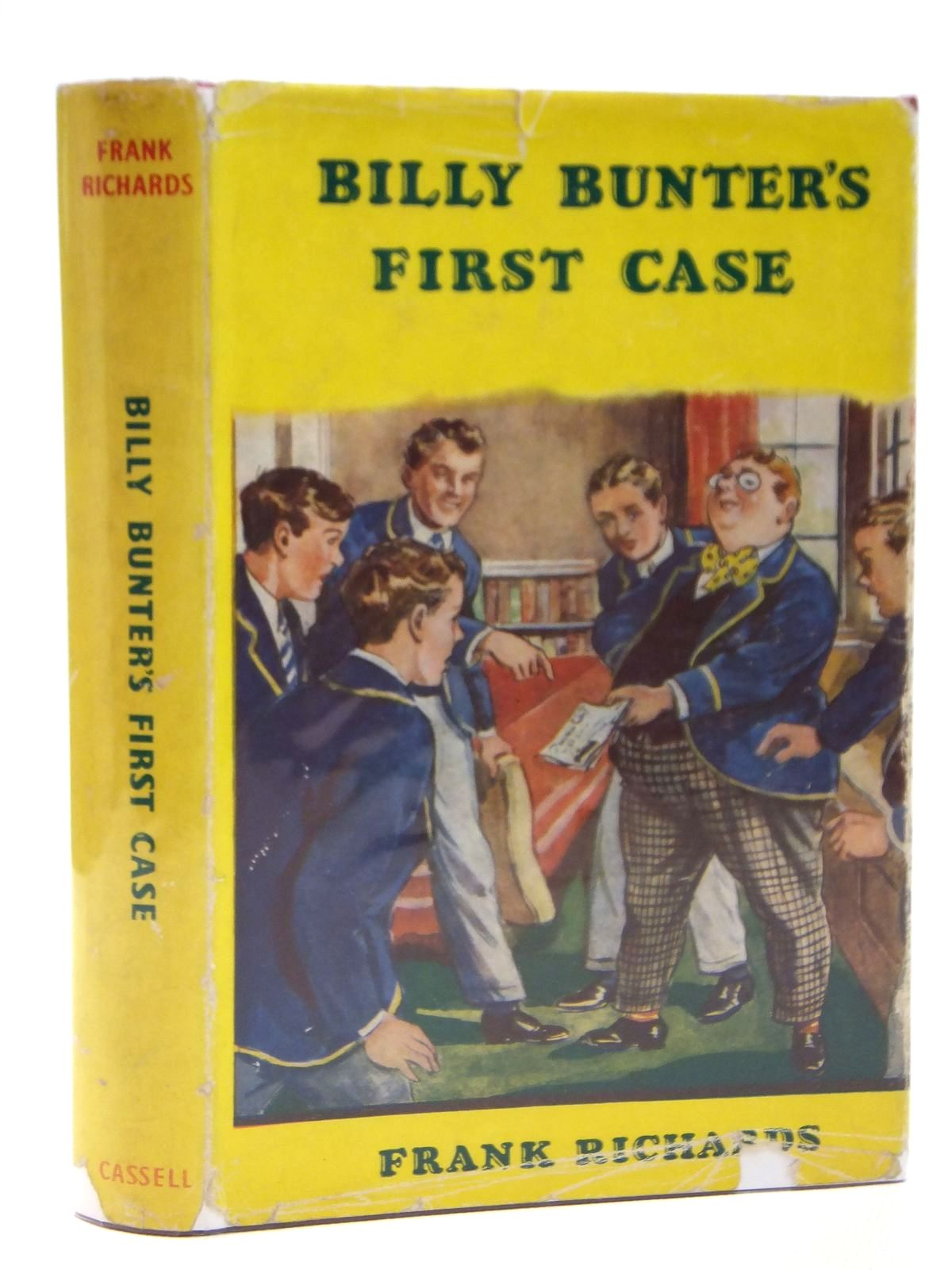 Photo of BILLY BUNTER'S FIRST CASE written by Richards, Frank illustrated by Macdonald, R.J. published by Cassell & Company Limited (STOCK CODE: 2121424)  for sale by Stella & Rose's Books