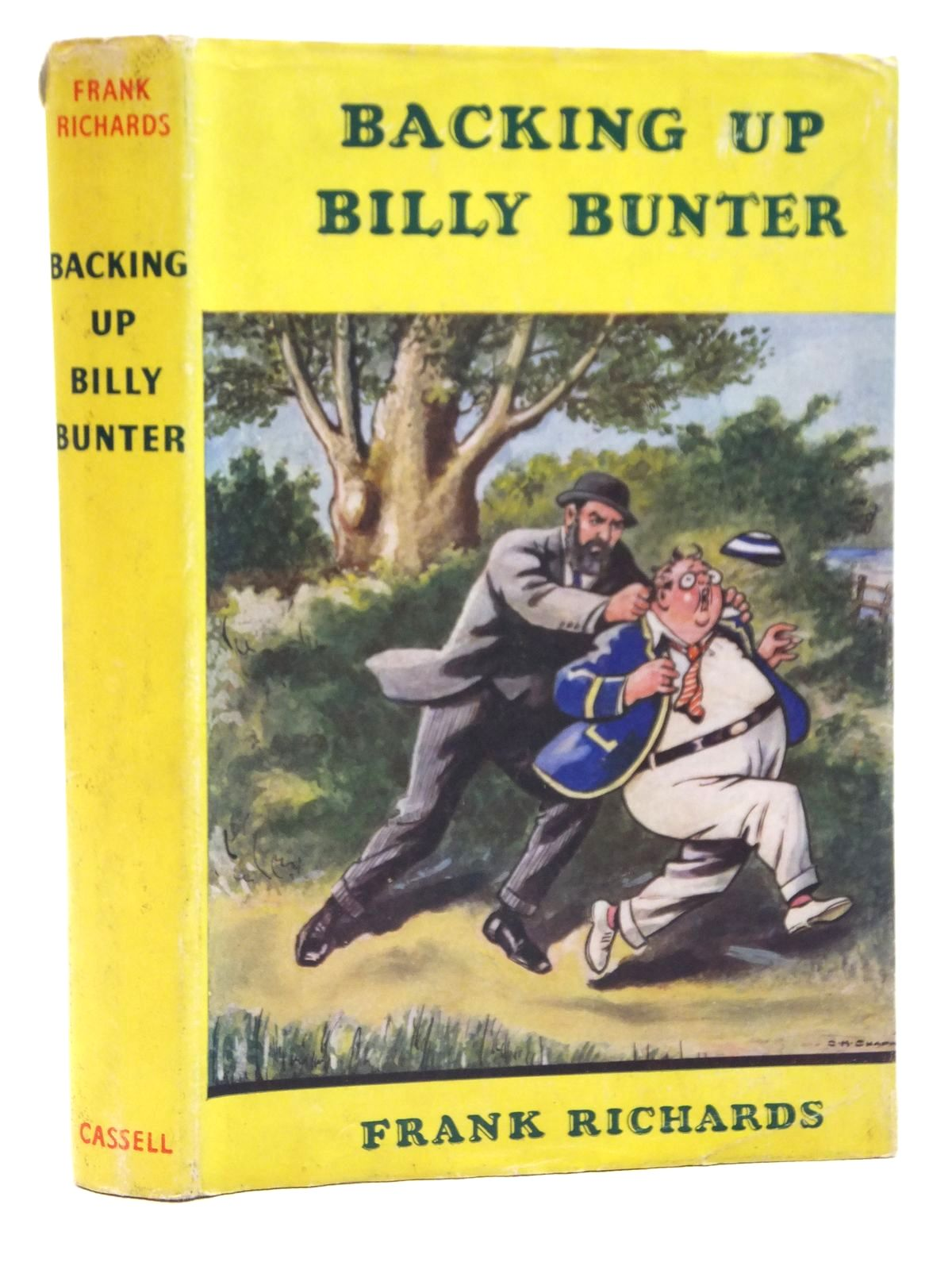 Photo of BACKING UP BILLY BUNTER written by Richards, Frank illustrated by Chapman, C.H. published by Cassell & Co. (STOCK CODE: 2121453)  for sale by Stella & Rose's Books