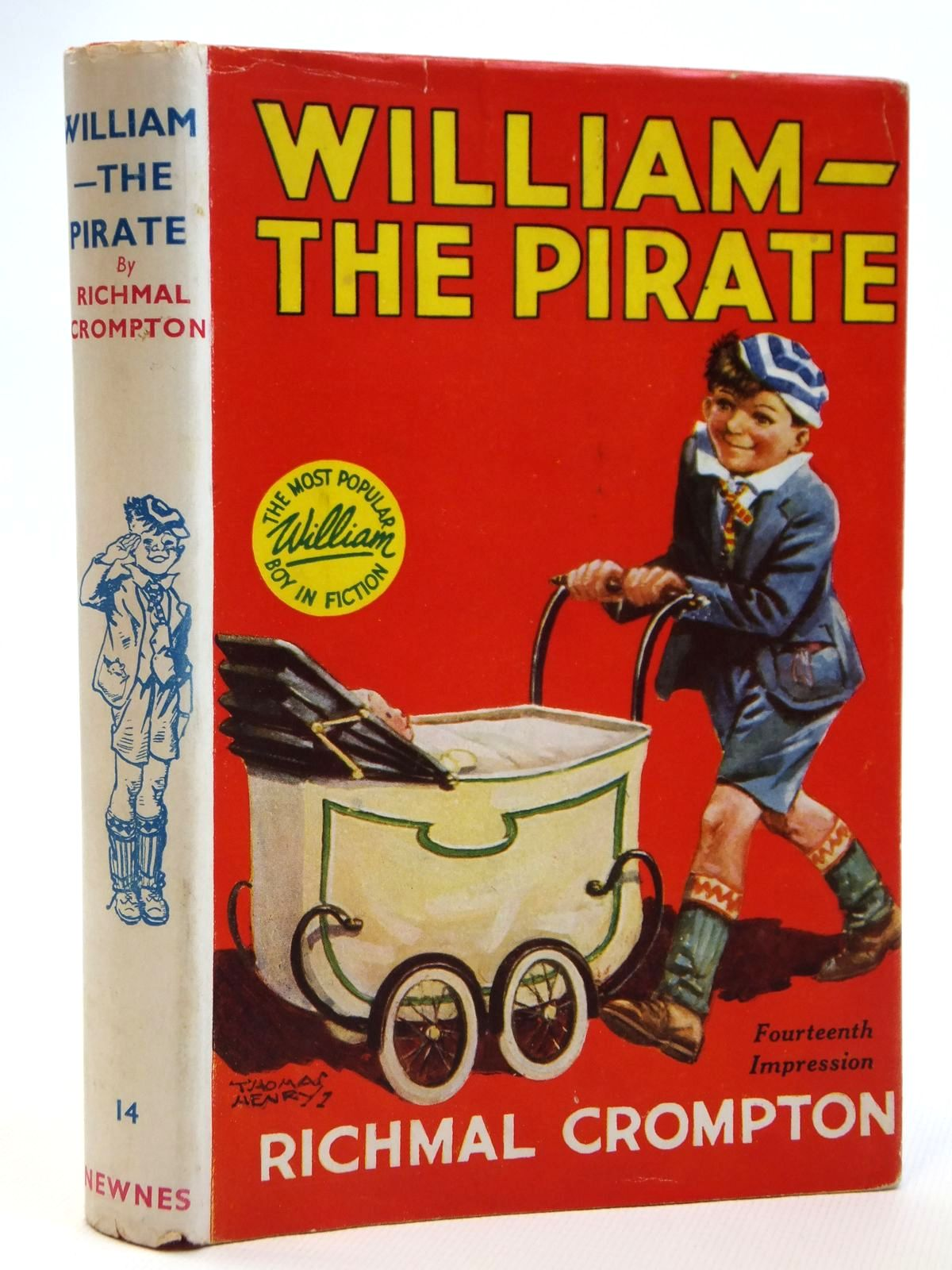 Photo of WILLIAM THE PIRATE written by Crompton, Richmal illustrated by Henry, Thomas published by George Newnes Limited (STOCK CODE: 2121495)  for sale by Stella & Rose's Books