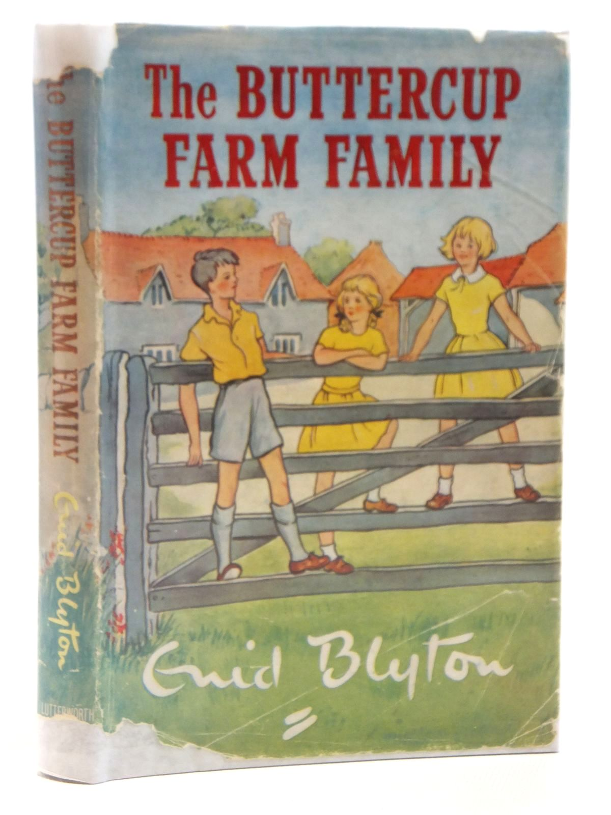 Photo of THE BUTTERCUP FARM FAMILY written by Blyton, Enid illustrated by Gervis, Ruth published by Lutterworth Press (STOCK CODE: 2121517)  for sale by Stella & Rose's Books