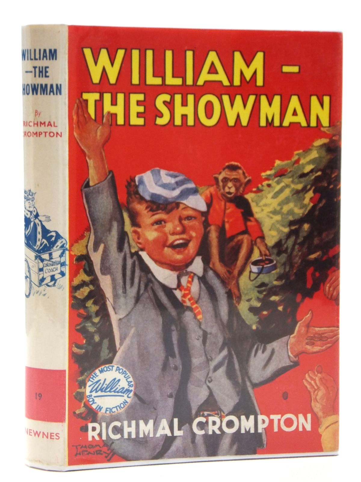 Photo of WILLIAM THE SHOWMAN written by Crompton, Richmal illustrated by Henry, Thomas published by George Newnes Limited (STOCK CODE: 2121548)  for sale by Stella & Rose's Books