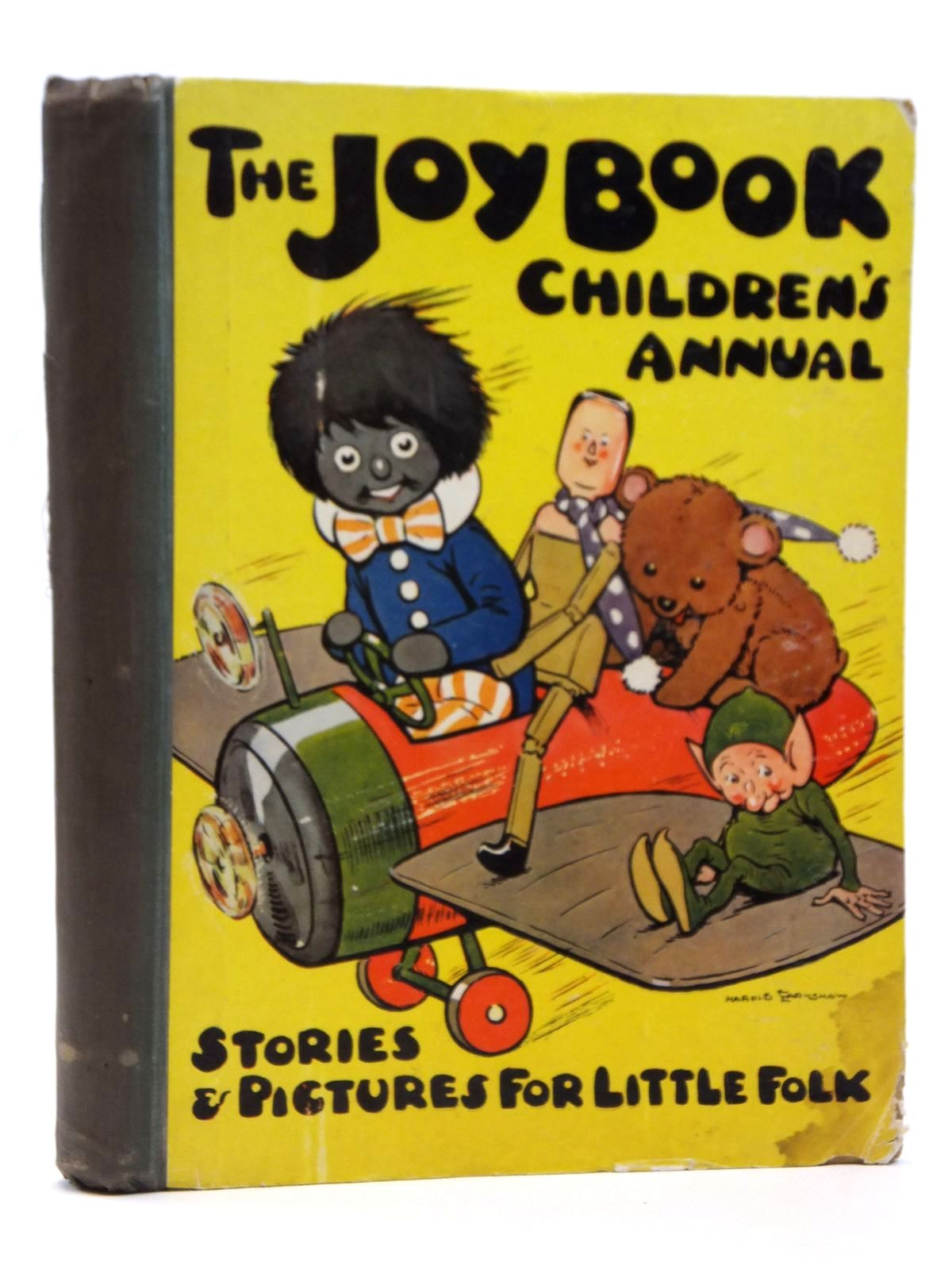 Photo of THE JOY BOOK CHILDREN'S ANNUAL 1924 written by Cowham, Hilda Winchester, Clarence Wynne, May et al, illustrated by Cowham, Hilda Browne, Jacques Bestall, Alfred et al., published by E. Hulton & Co. Ltd. (STOCK CODE: 2121589)  for sale by Stella & Rose's Books