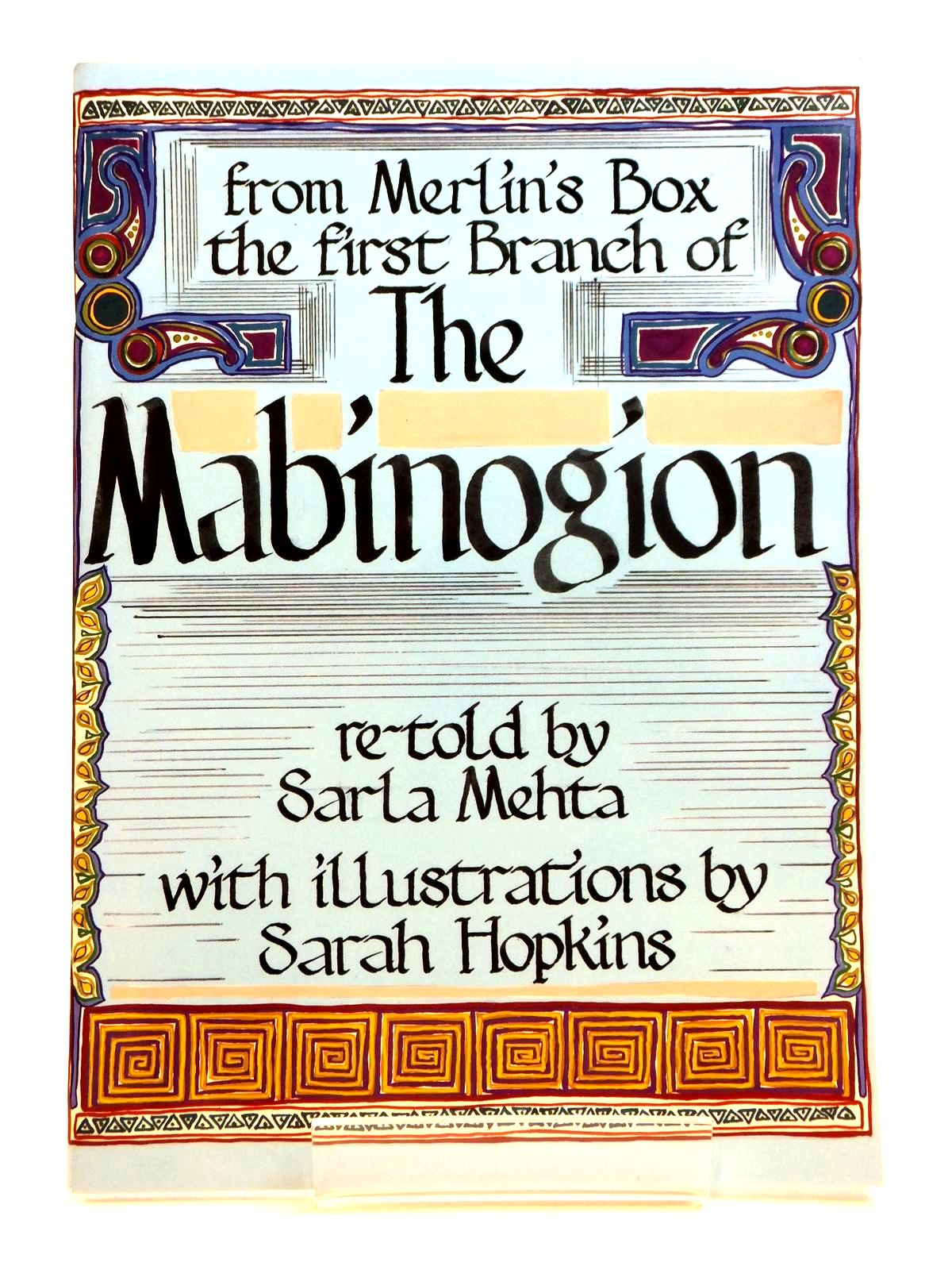 Photo of THE MABINOGION written by Mehta, Sarla illustrated by Hopkins, Sarah published by Langdon Publishing (STOCK CODE: 2121786)  for sale by Stella & Rose's Books