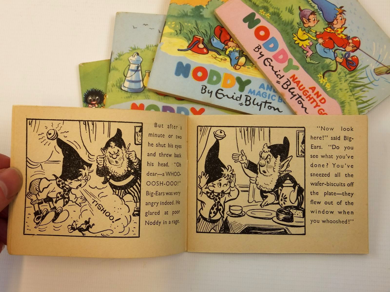 Photo of NODDY'S TOY STATION OF BOOKS written by Blyton, Enid published by Sampson Low, Marston & Co. Ltd., Dennis Dobson Ltd. (STOCK CODE: 2121857)  for sale by Stella & Rose's Books