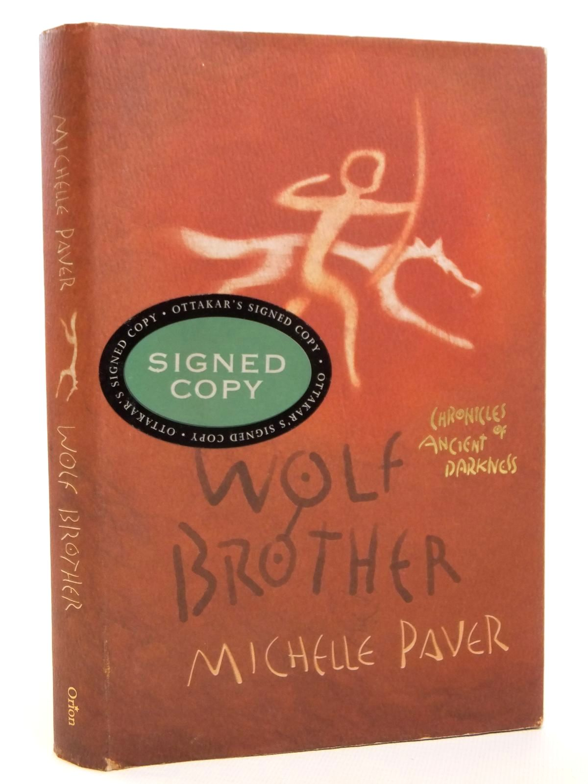 Photo of WOLF BROTHER written by Paver, Michelle published by Orion Children's Books (STOCK CODE: 2121860)  for sale by Stella & Rose's Books