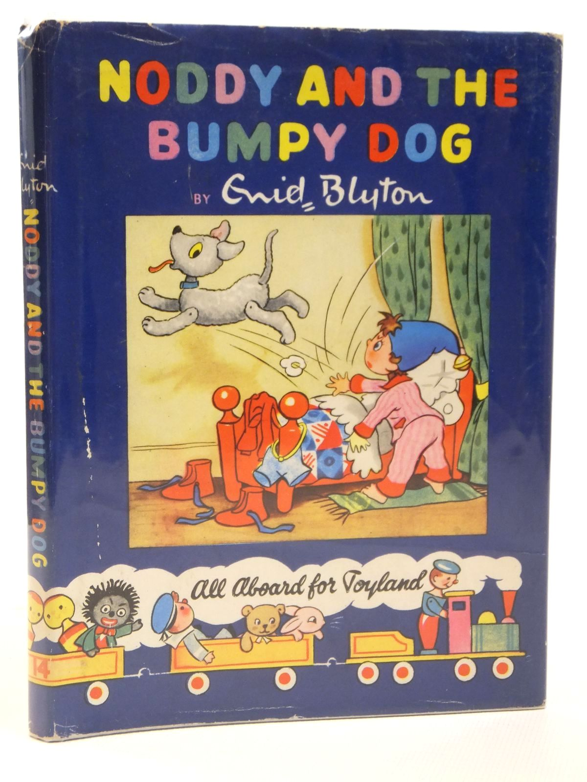Photo of NODDY AND THE BUMPY DOG written by Blyton, Enid illustrated by Lee, Robert Tyndall, Robert published by Sampson Low, Marston & Co. Ltd., Dennis Dobson Ltd. (STOCK CODE: 2121896)  for sale by Stella & Rose's Books