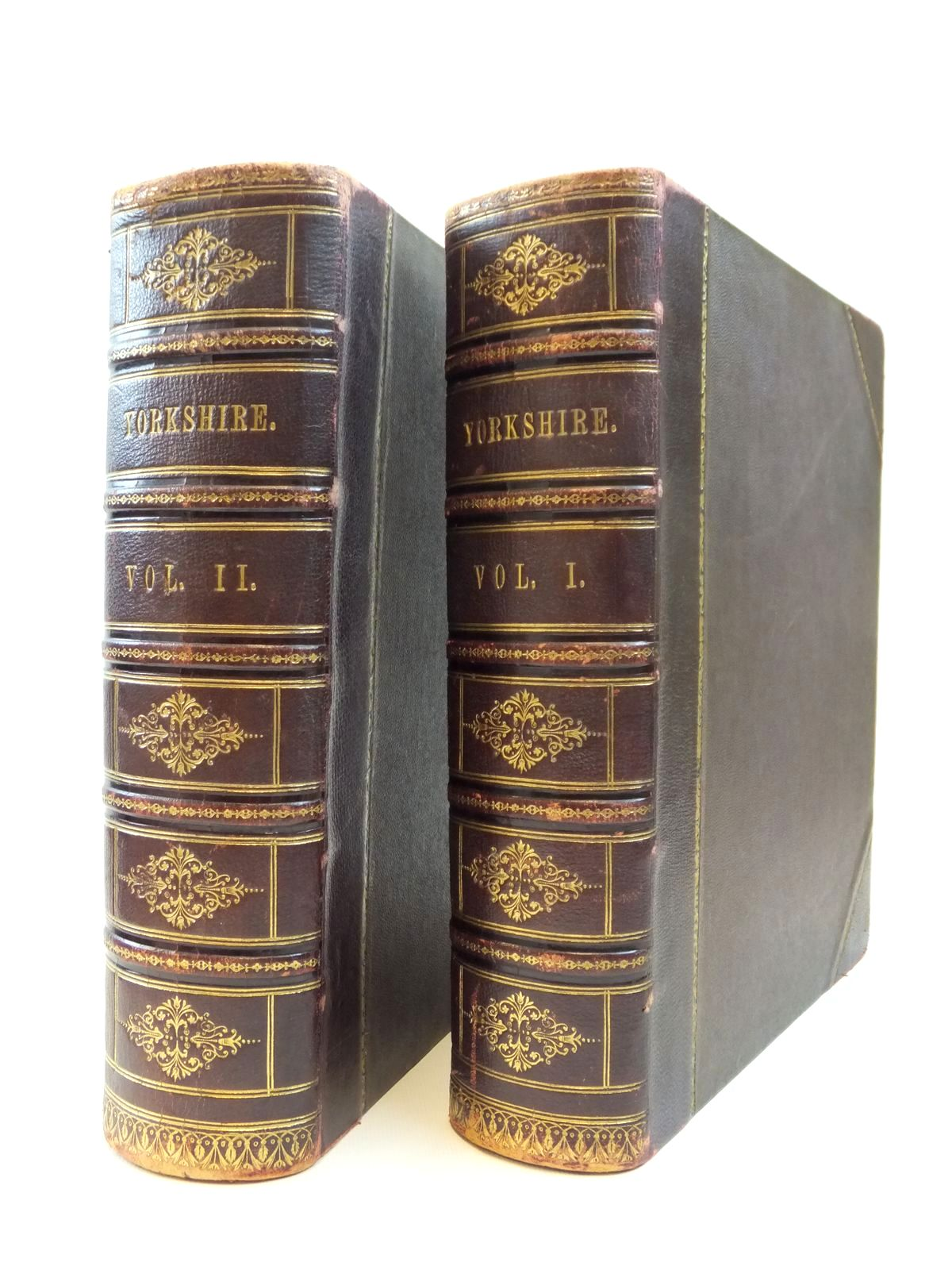 Photo of YORKSHIRE PAST AND PRESENT (2 VOLUMES) written by Baines, Thomas