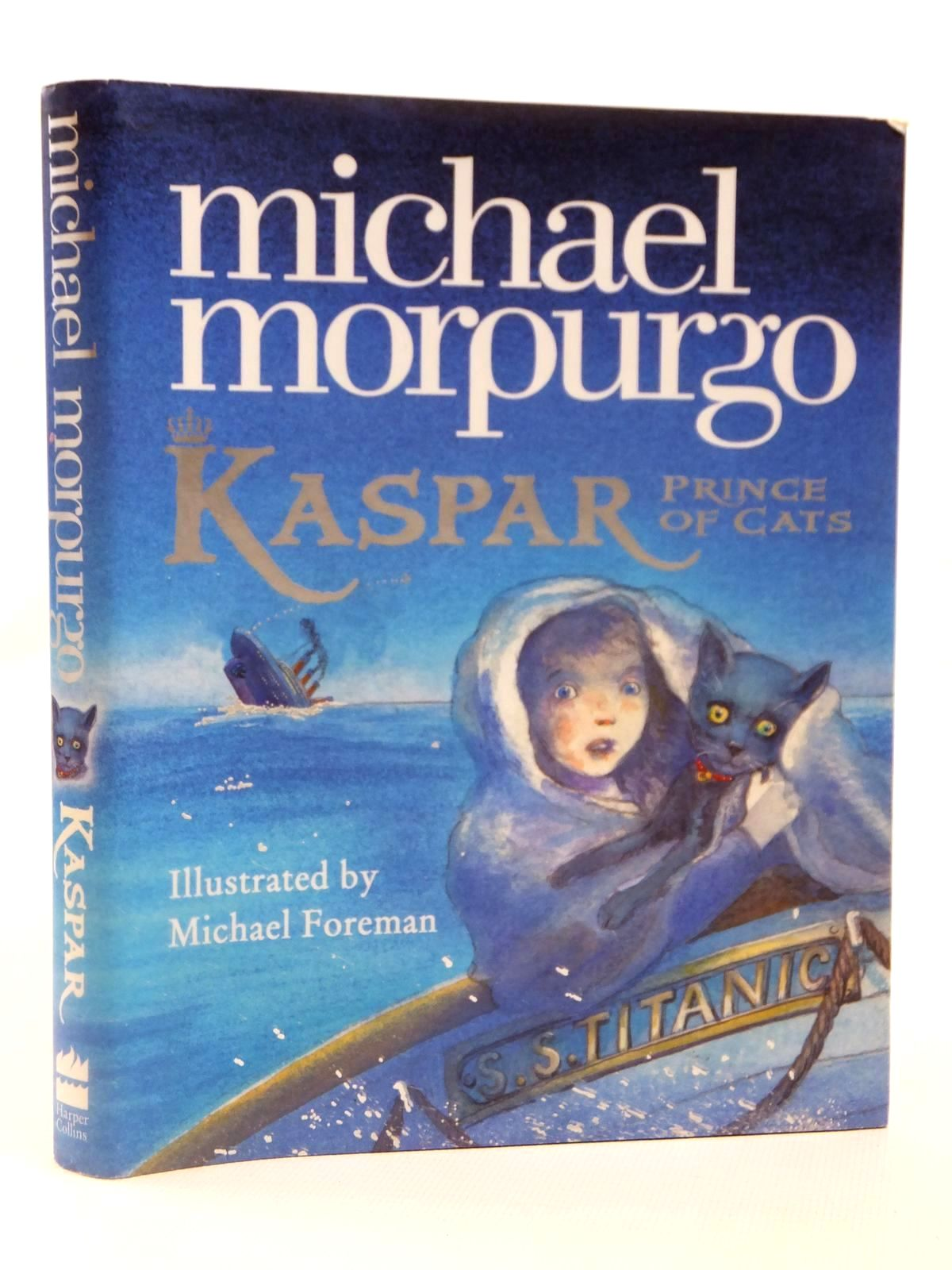 Photo of KASPAR PRINCE OF CATS written by Morpurgo, Michael illustrated by Foreman, Michael published by Harper Collins (STOCK CODE: 2122010)  for sale by Stella & Rose's Books