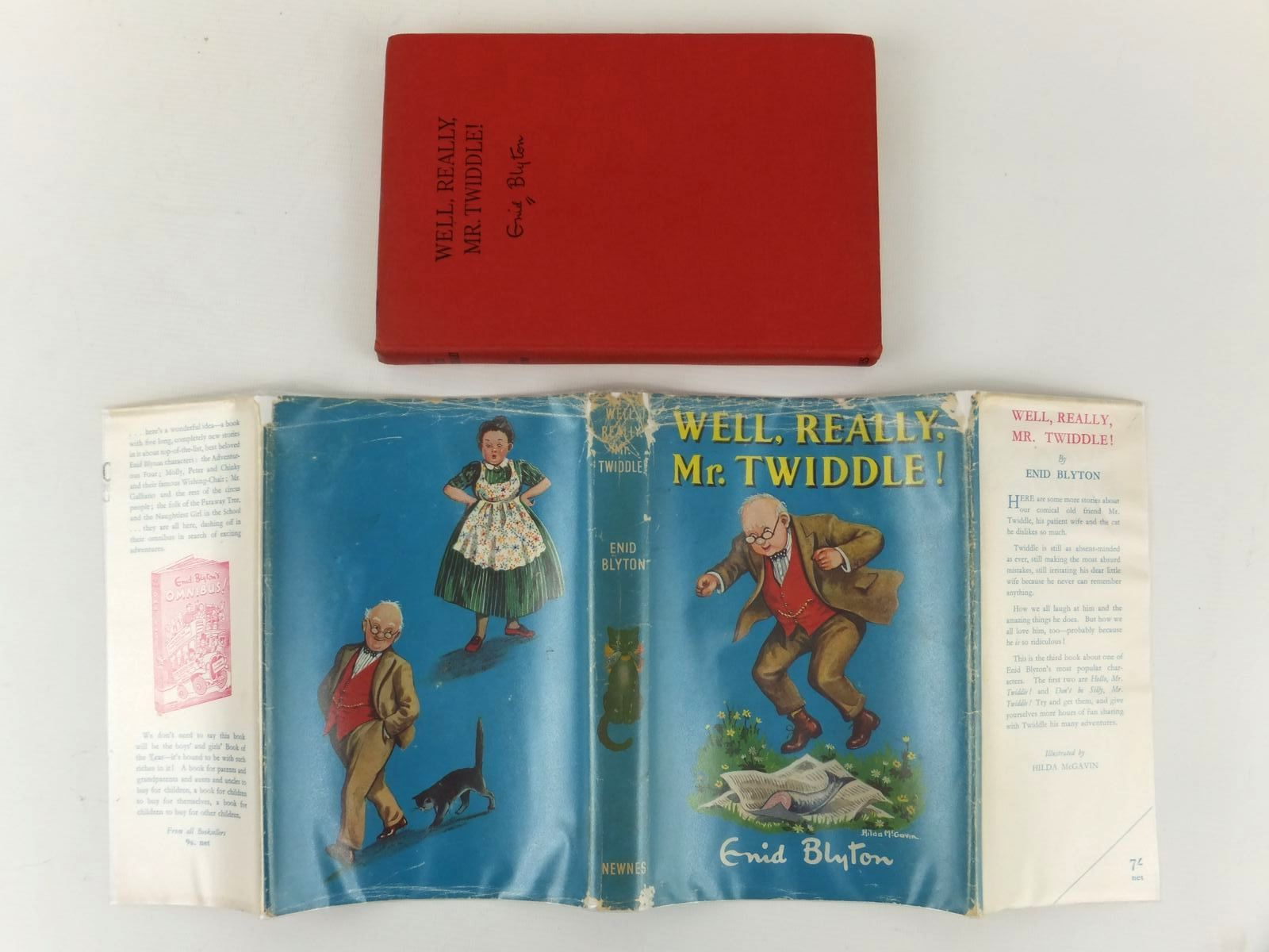 Photo of WELL, REALLY, MR. TWIDDLE! written by Blyton, Enid illustrated by McGavin, Hilda published by George Newnes Limited (STOCK CODE: 2122042)  for sale by Stella & Rose's Books