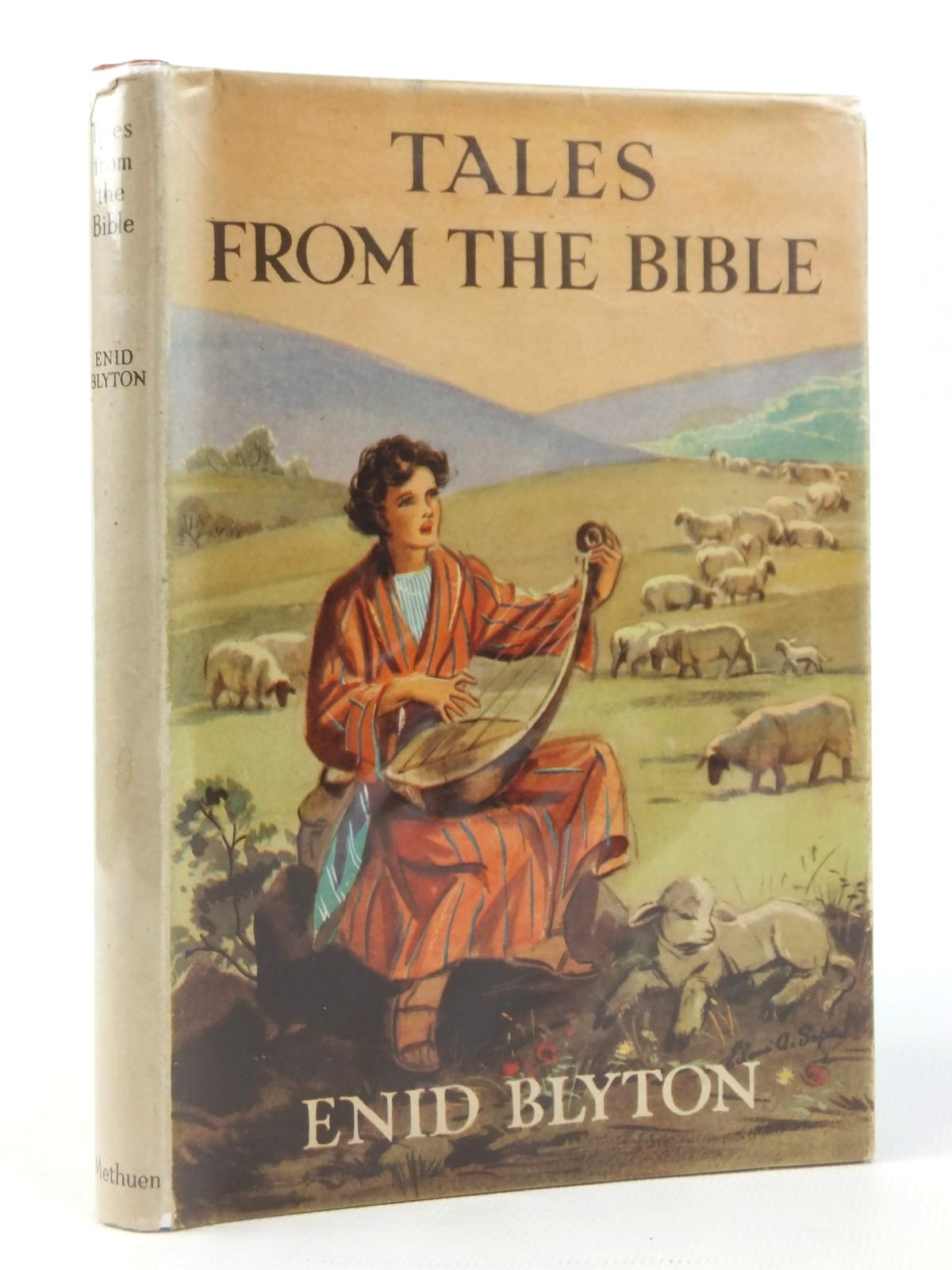 Photo of TALES FROM THE BIBLE written by Blyton, Enid illustrated by Soper, Eileen published by Methuen & Co. Ltd. (STOCK CODE: 2122067)  for sale by Stella & Rose's Books