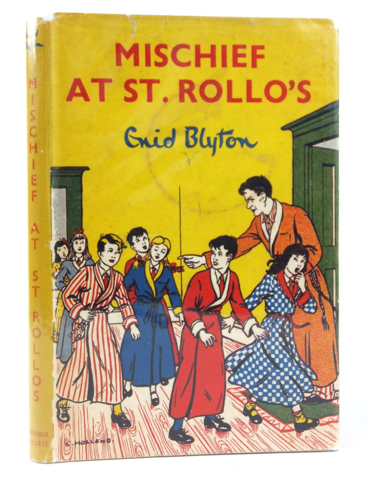 Photo of MISCHIEF AT ST. ROLLO'S written by Blyton, Enid illustrated by Holland, C. published by Werner Laurie (STOCK CODE: 2122069)  for sale by Stella & Rose's Books