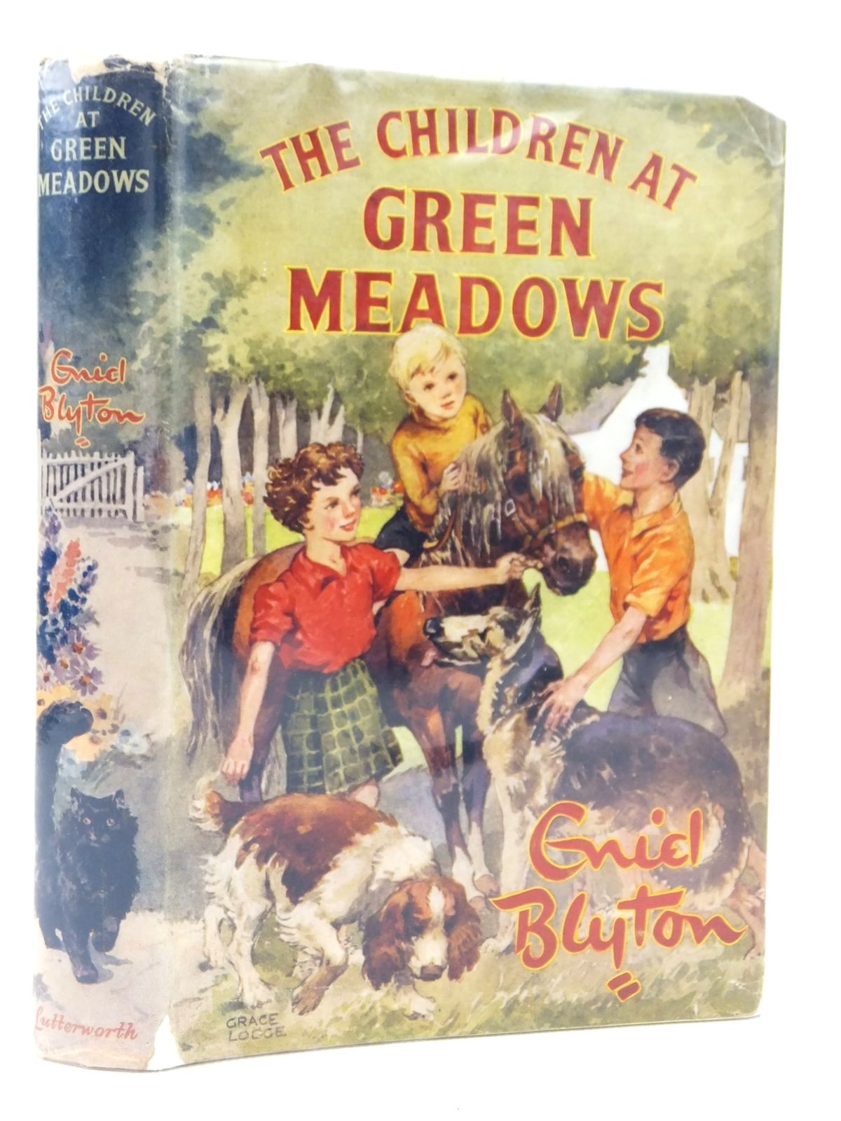 Photo of THE CHILDREN AT GREEN MEADOWS written by Blyton, Enid illustrated by Lodge, Grace published by Lutterworth Press (STOCK CODE: 2122075)  for sale by Stella & Rose's Books