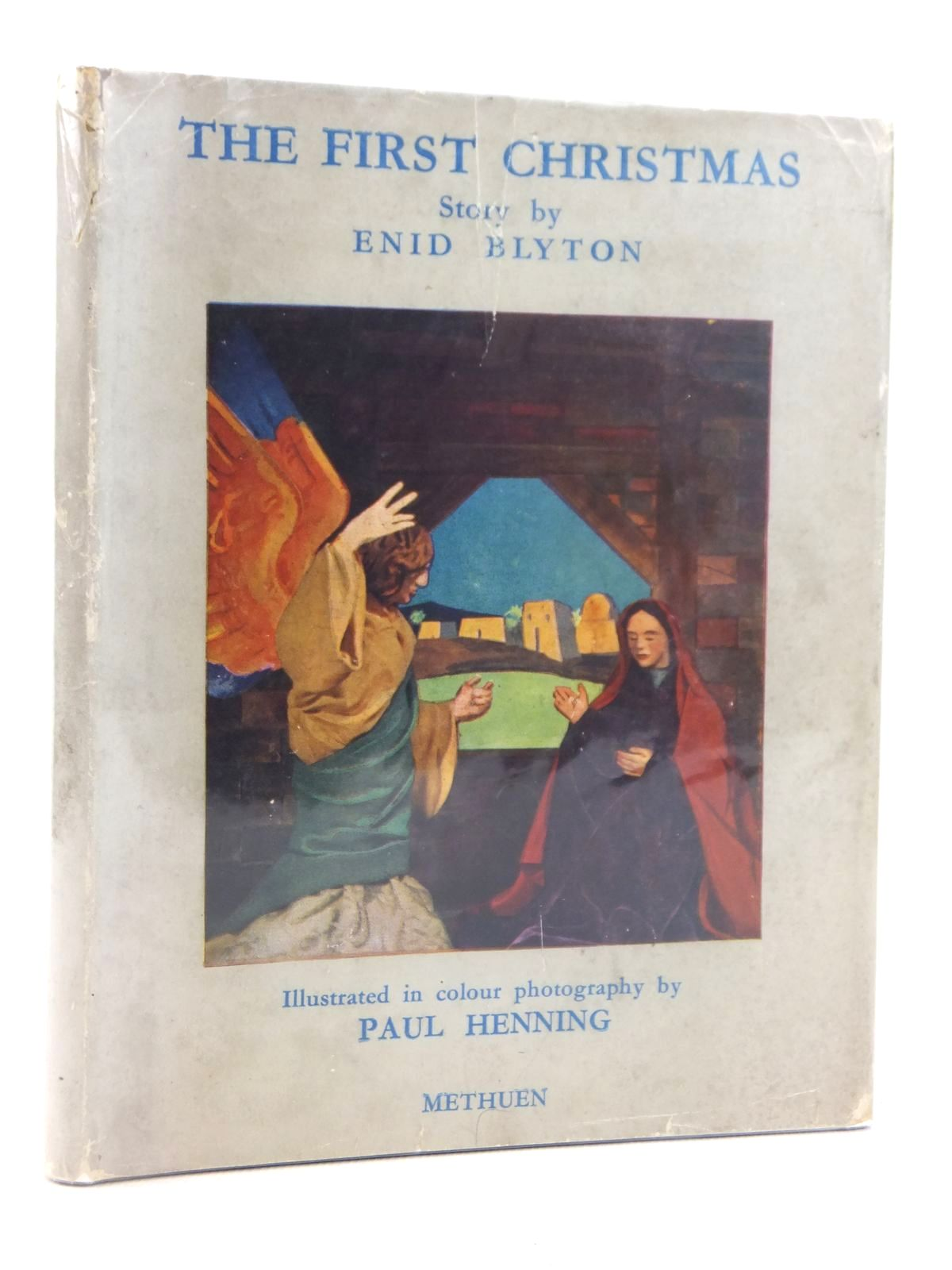 Photo of THE FIRST CHRISTMAS written by Blyton, Enid illustrated by Henning, Paul Weissenborn, Hellmuth published by Methuen & Co. Ltd. (STOCK CODE: 2122079)  for sale by Stella & Rose's Books